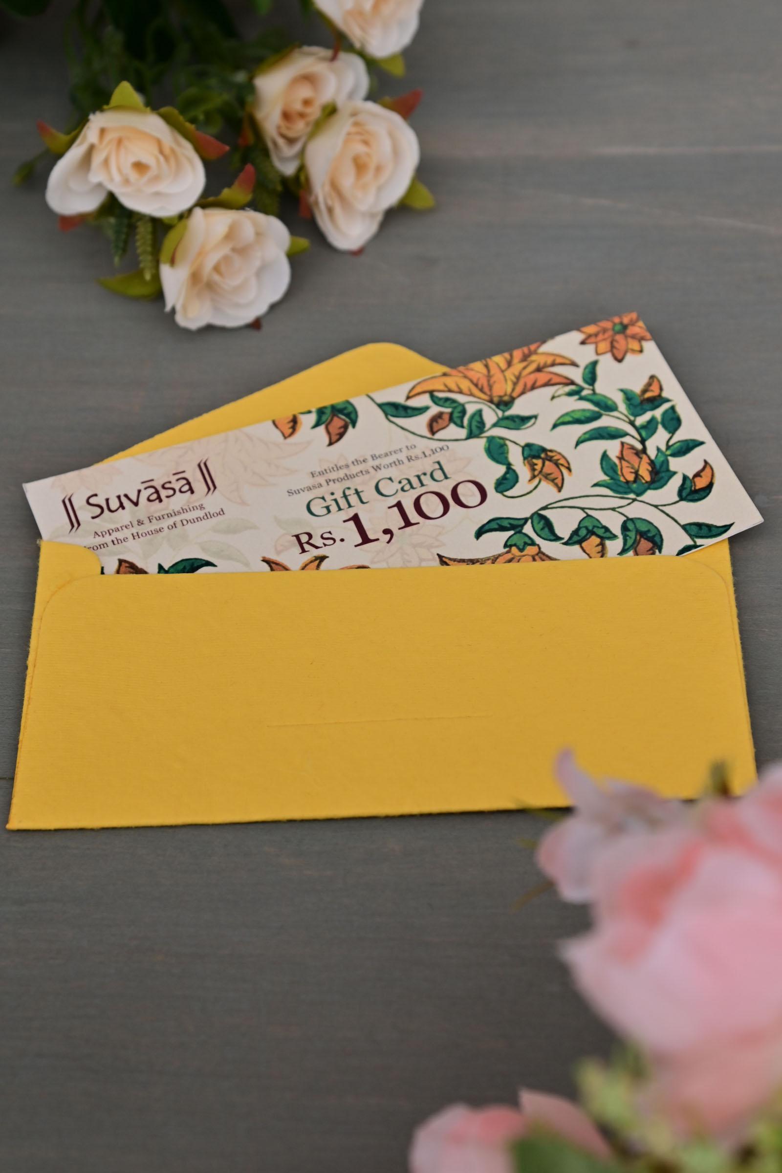 Gift Card 1100