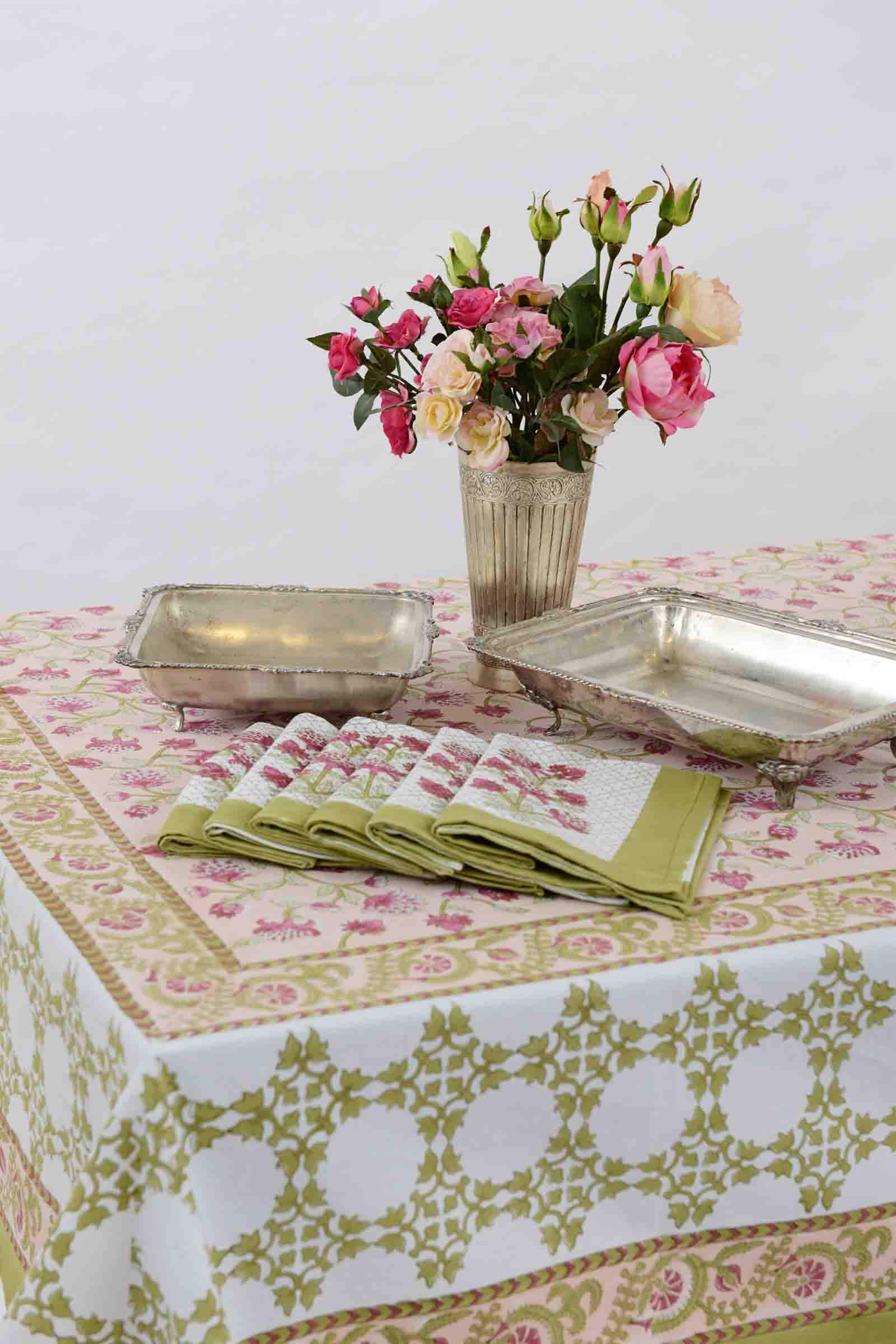 Poetic Summer Table Cover
