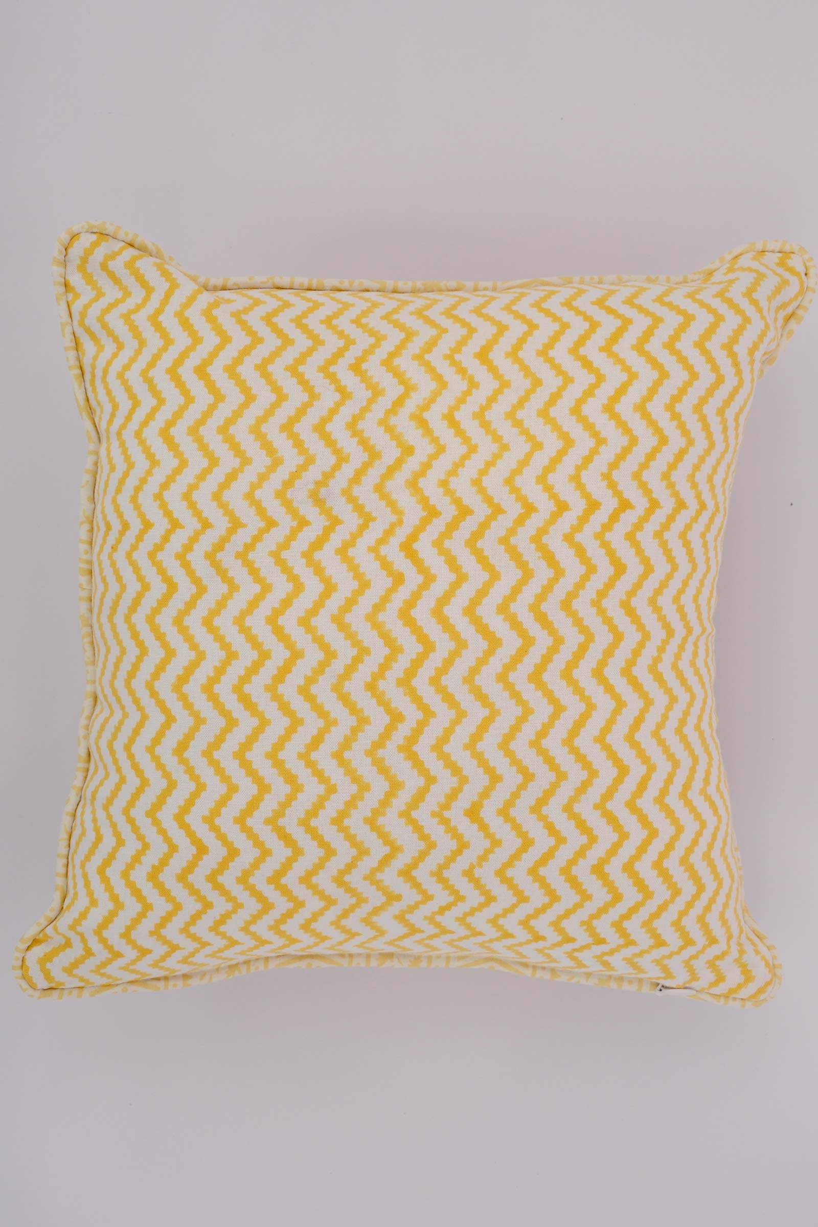 Cloudy Morning Border Cushion Cover