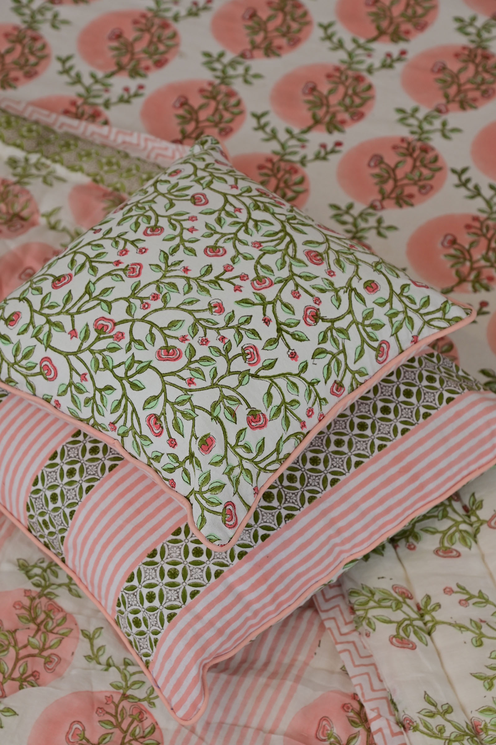 Blooming trail 12*12 Cushion Cover