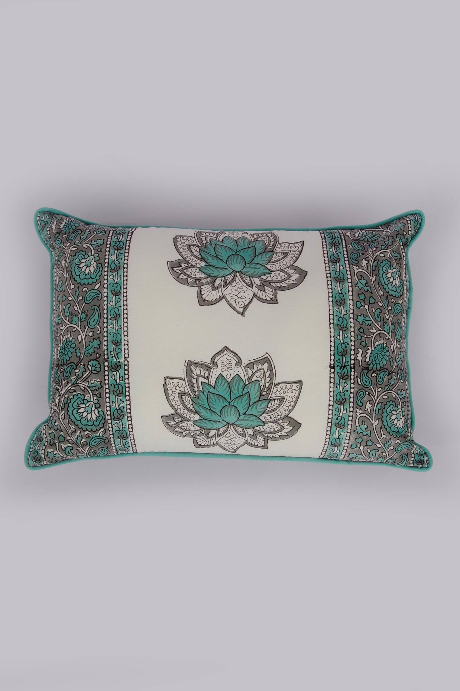 Lotus Sonata 12*18 Cushion Cover