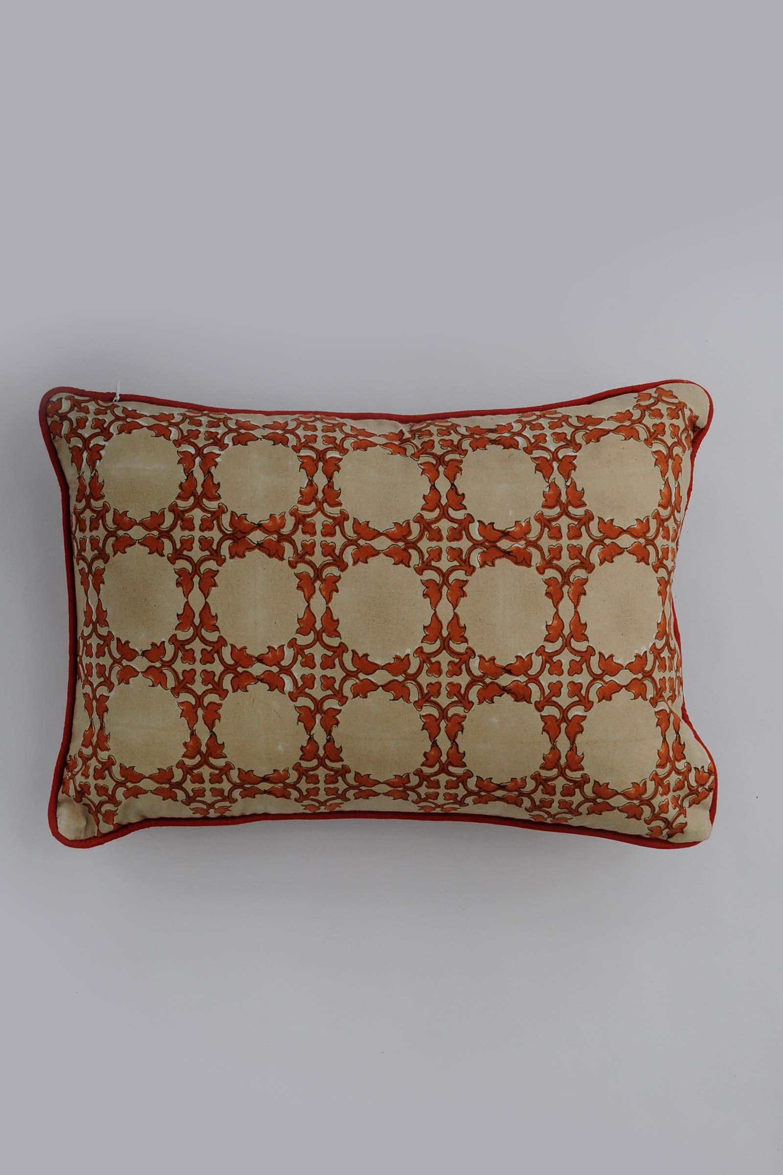 Suzani In Rust 12*18 Cushion Cover