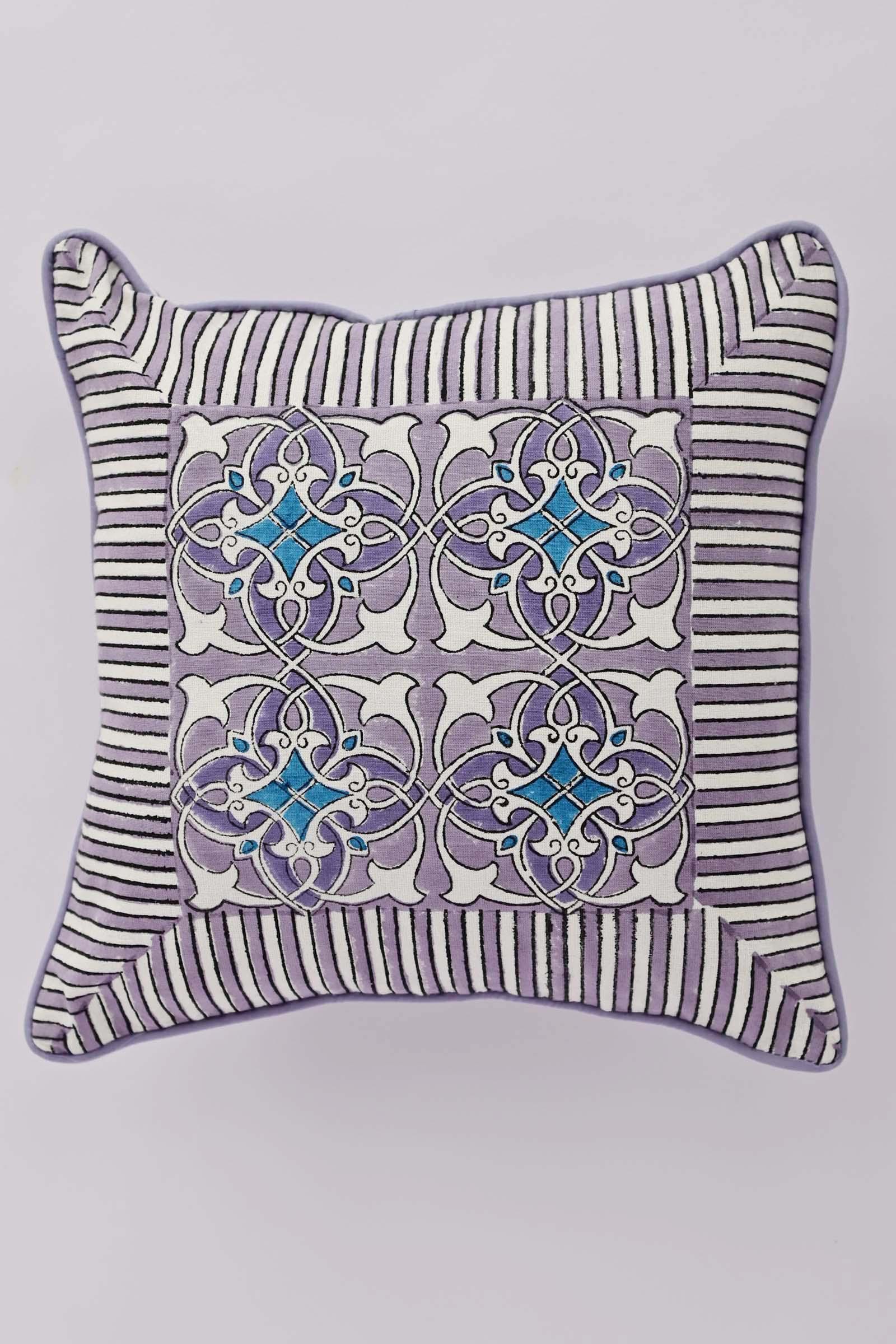 Artistic Lavender 12*12 Cushion Cover