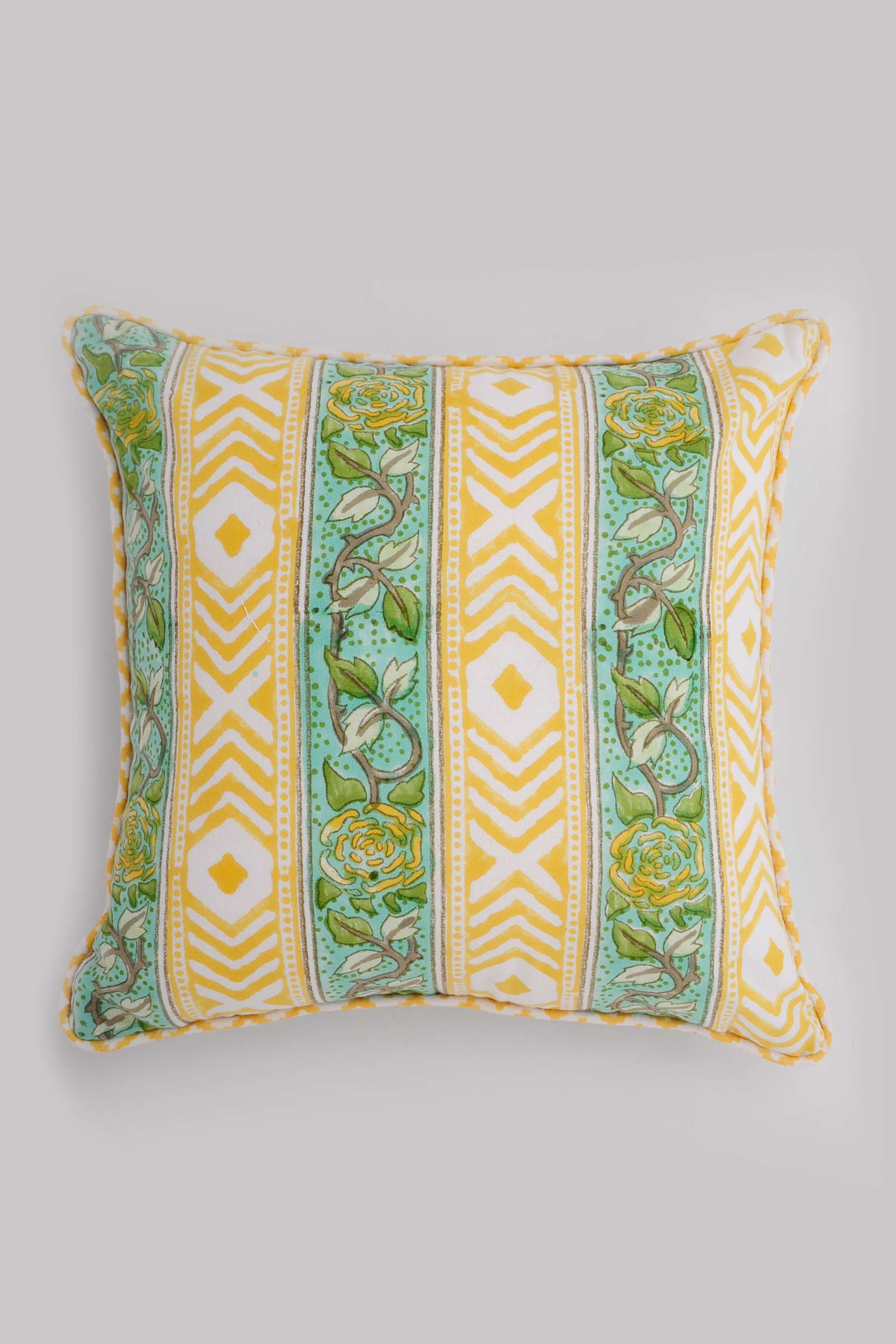 Perozah Border Cushion Cover
