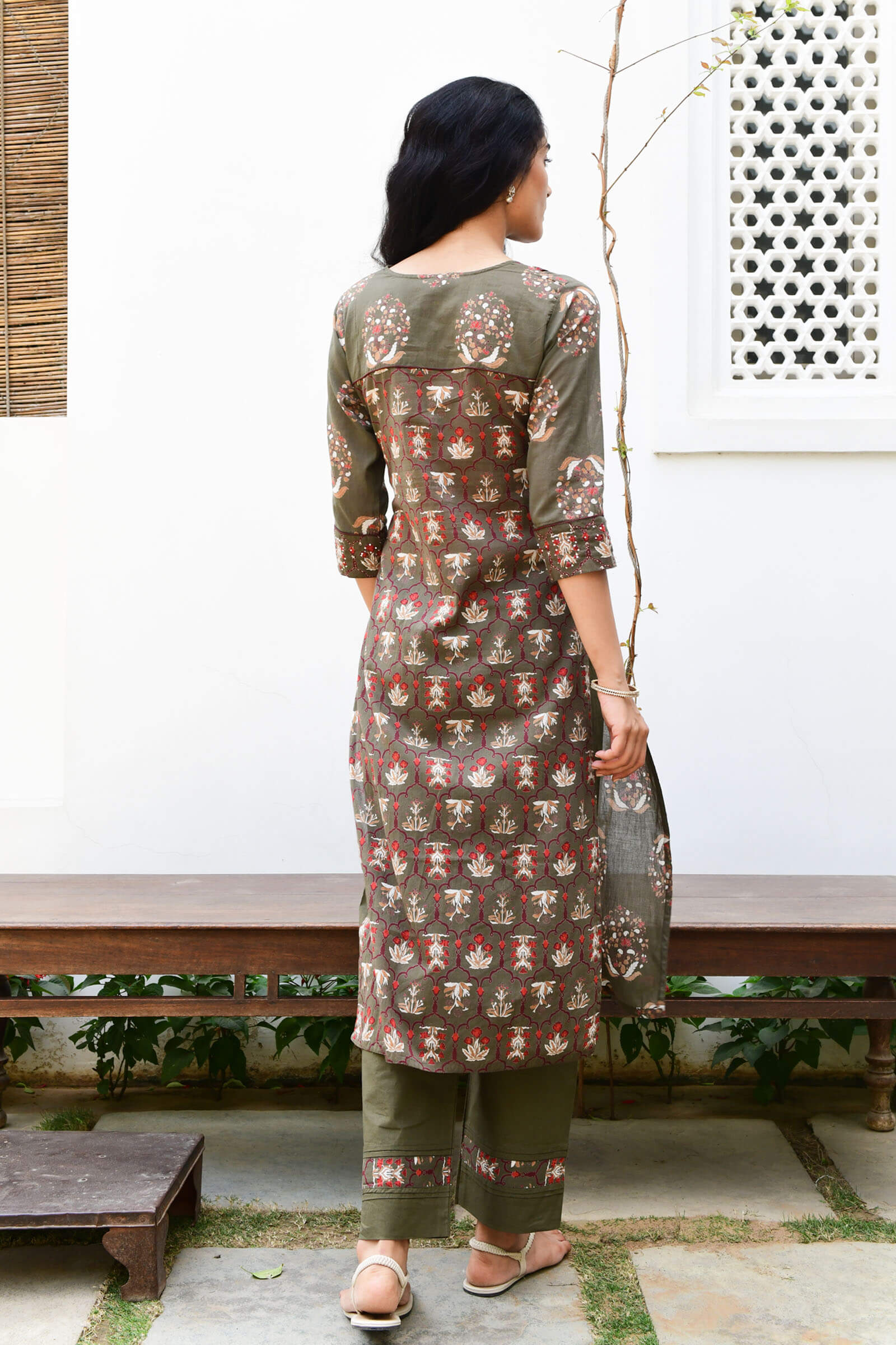 Stained Glass Voil Kurta