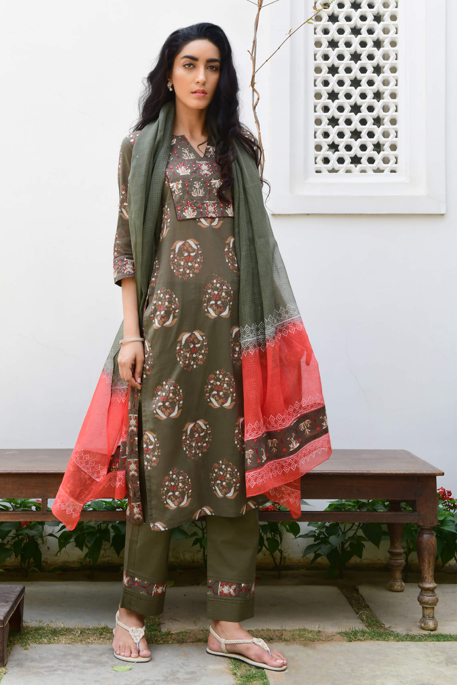 Stained Glass Dupatta