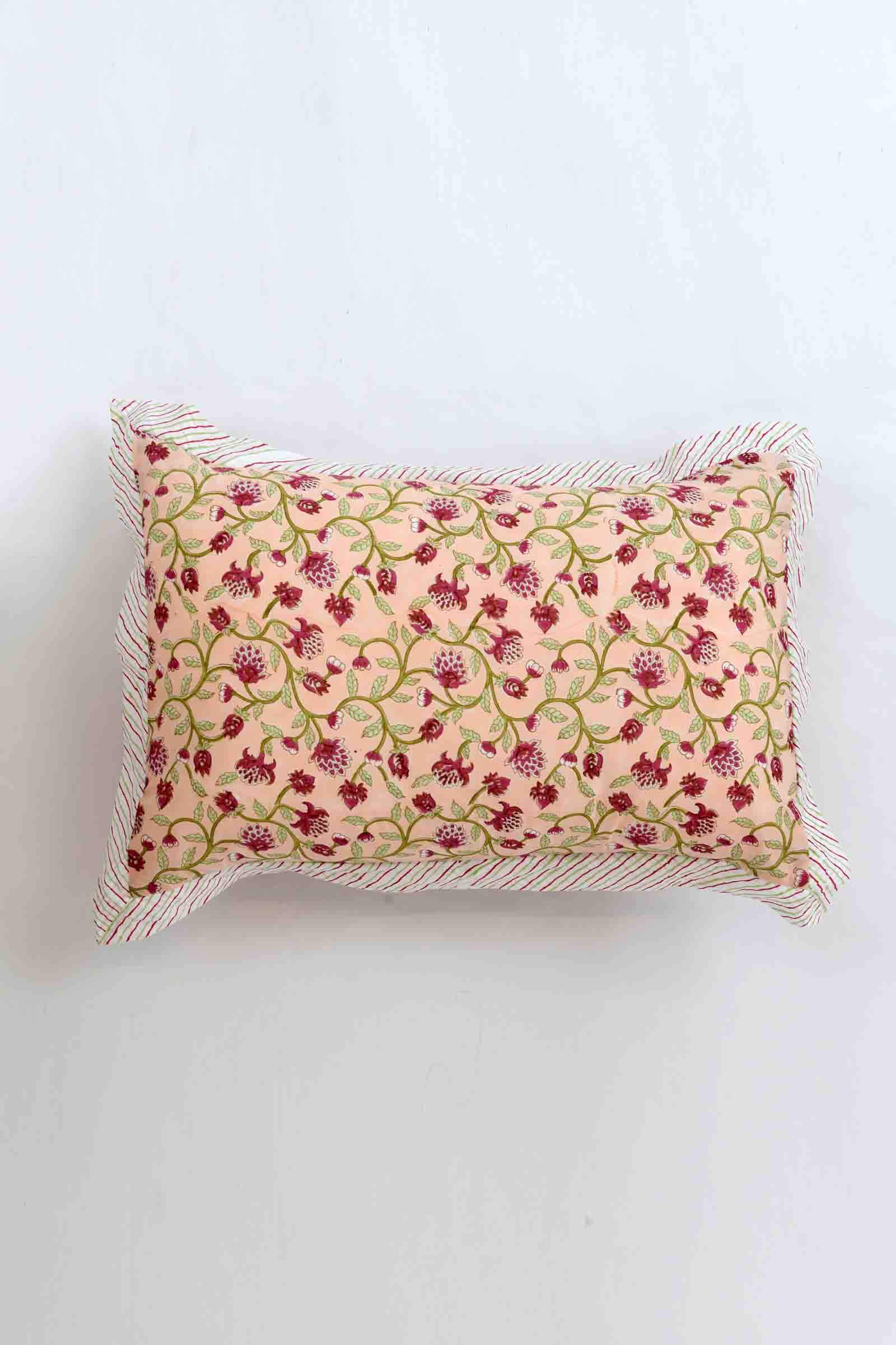 Poetic Summer Pillow Cover Set of 2