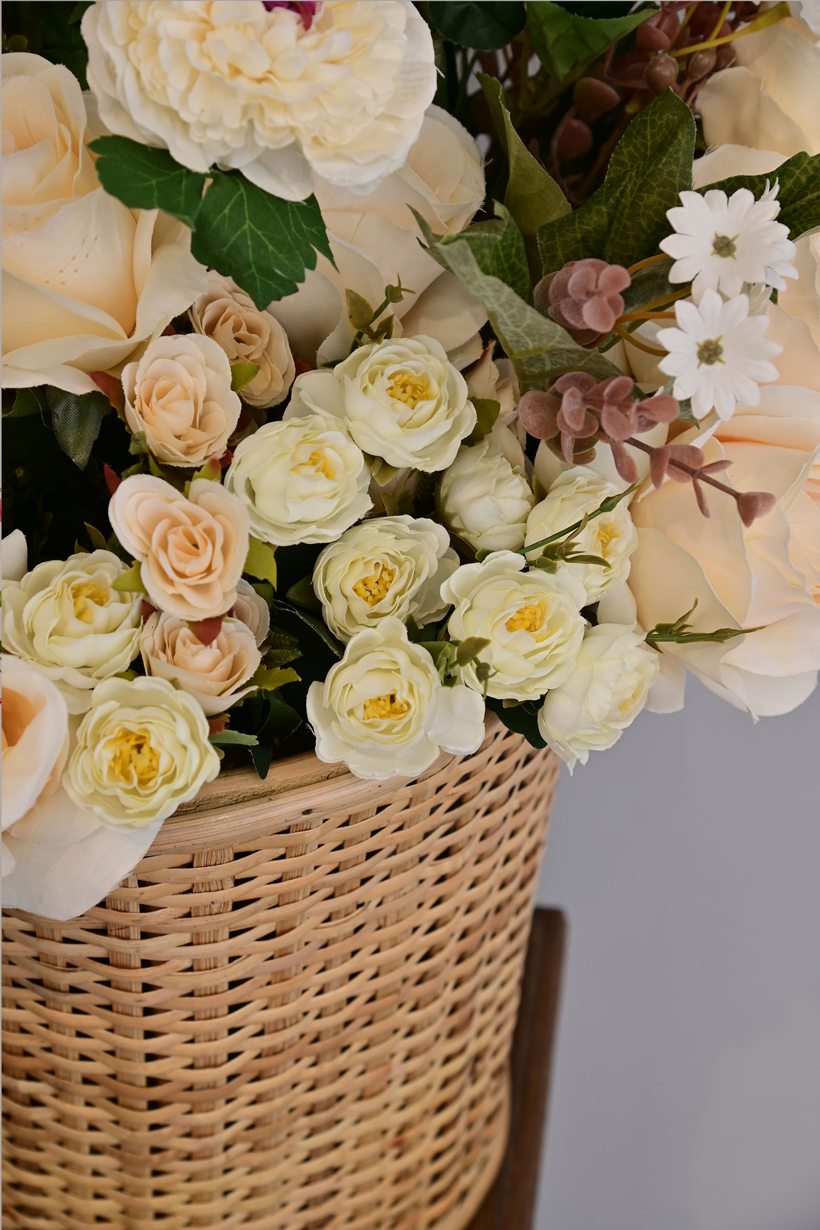 Bunch Of Roses White