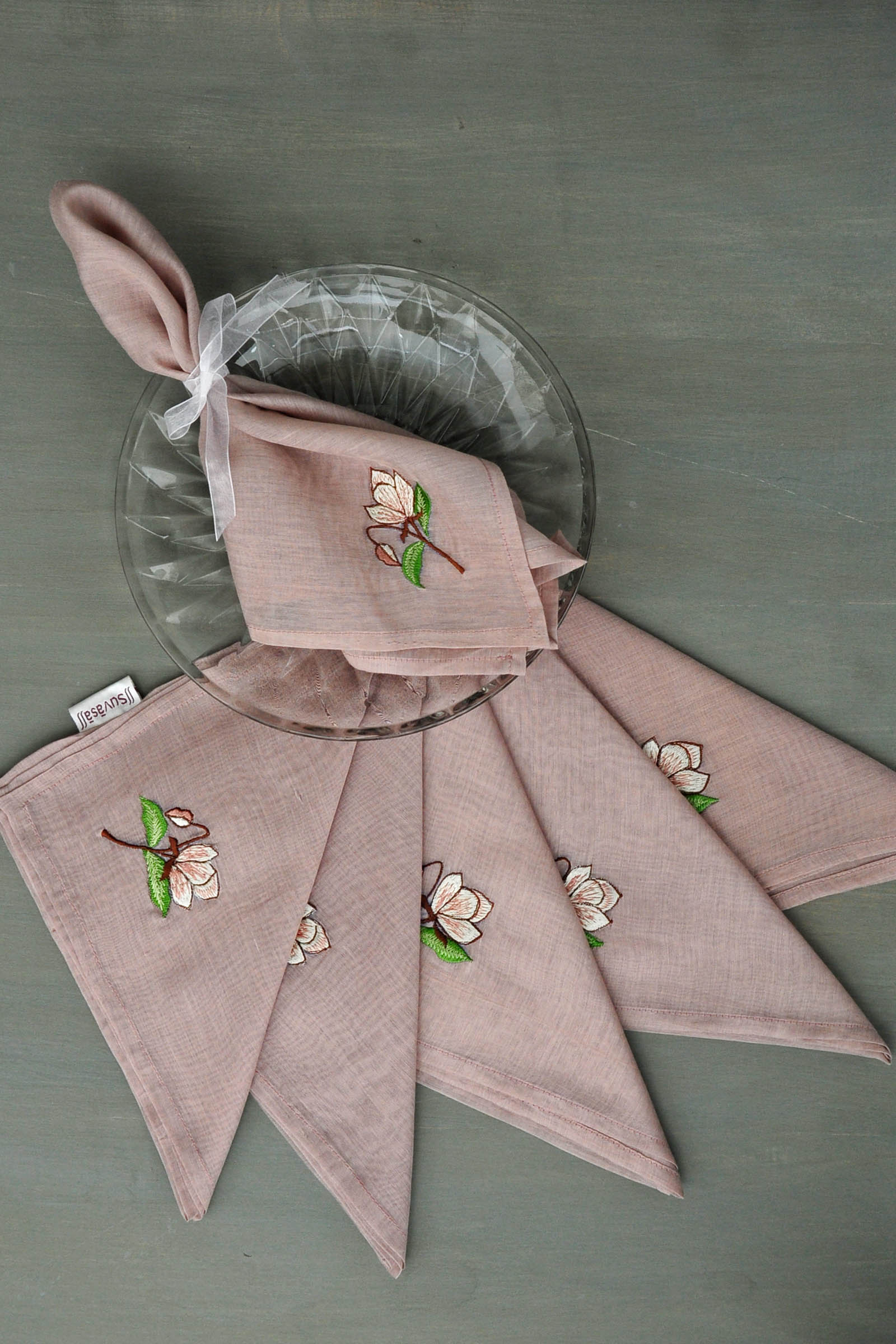 Mauve Attraction Napkin Set Of 6