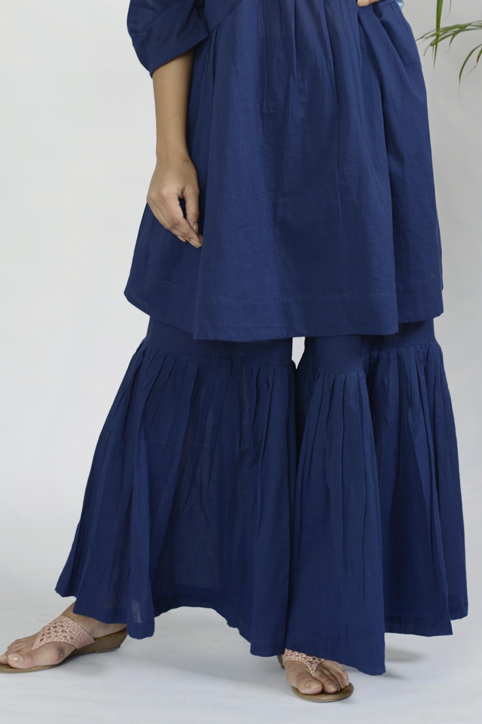 Play Dress Blue Sharara