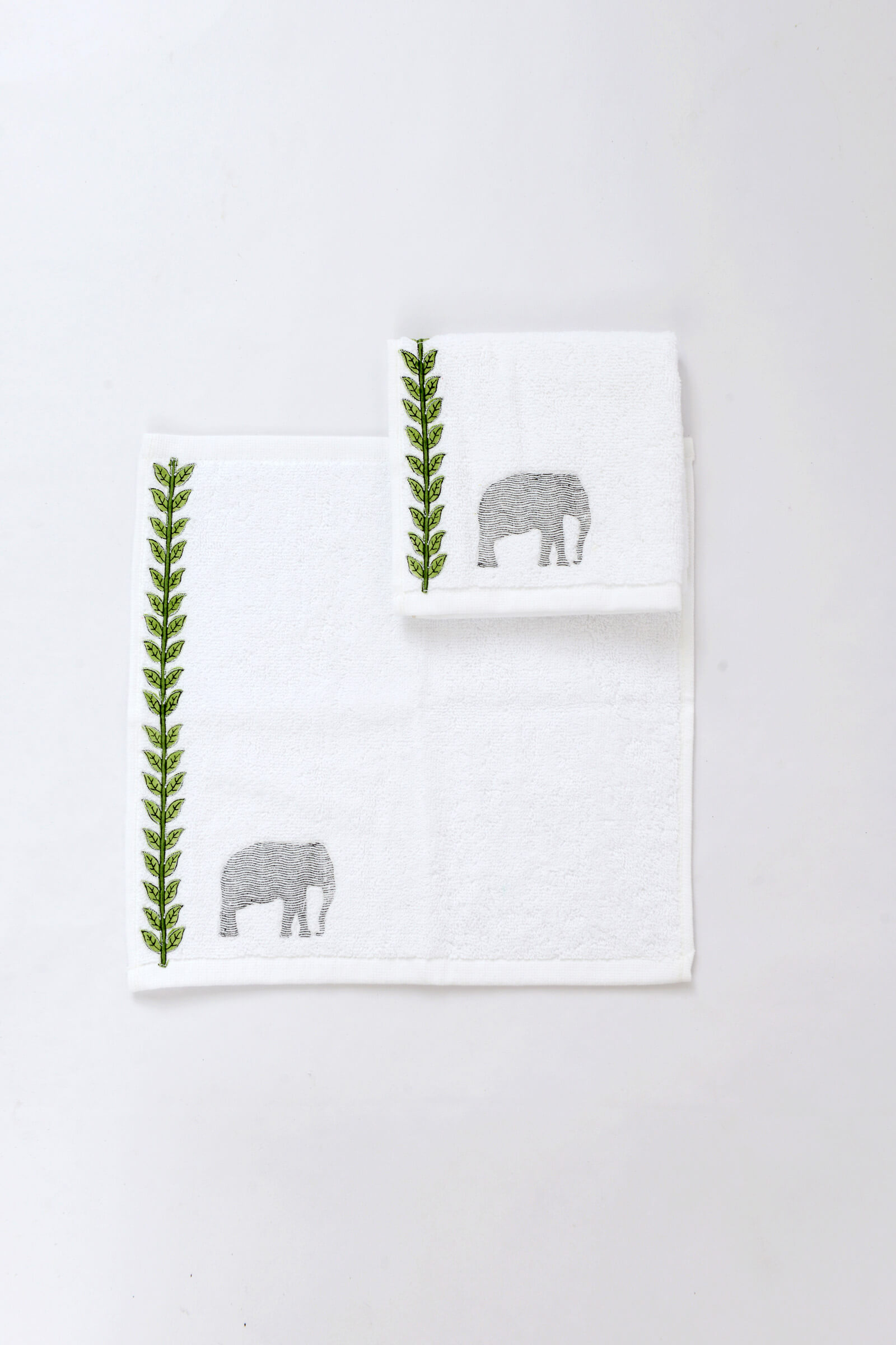 Thekkady face towel (set of 2)