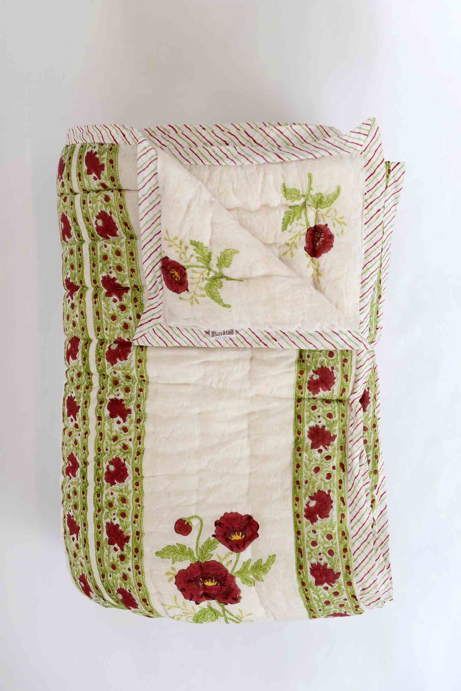 Red Poppies Quilt