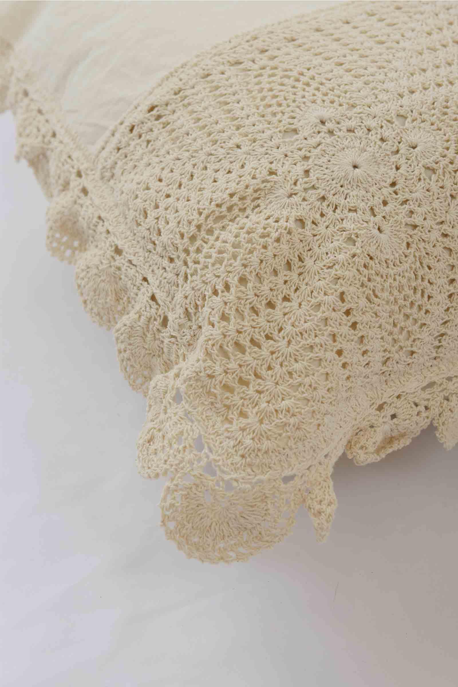 Crochet Pillow Cover Set of 2