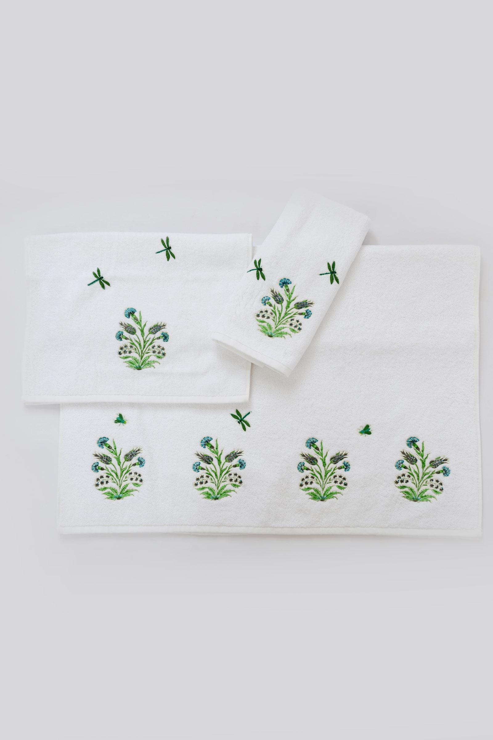 Mughal Garden Bath Towel