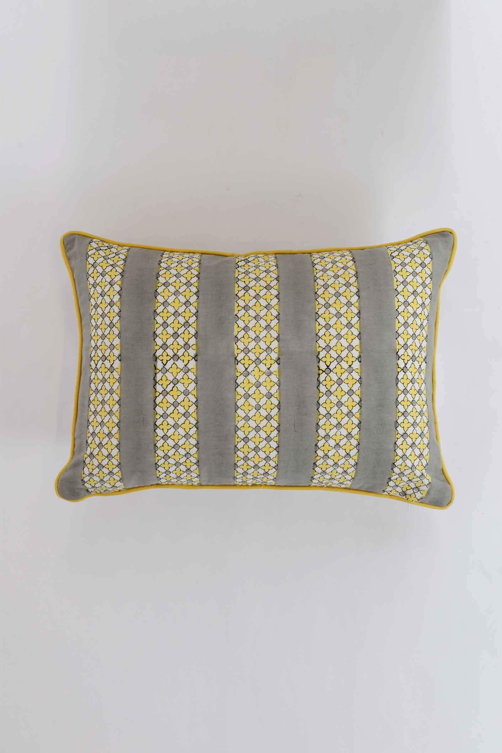 Thekkady Border Cushion Cover