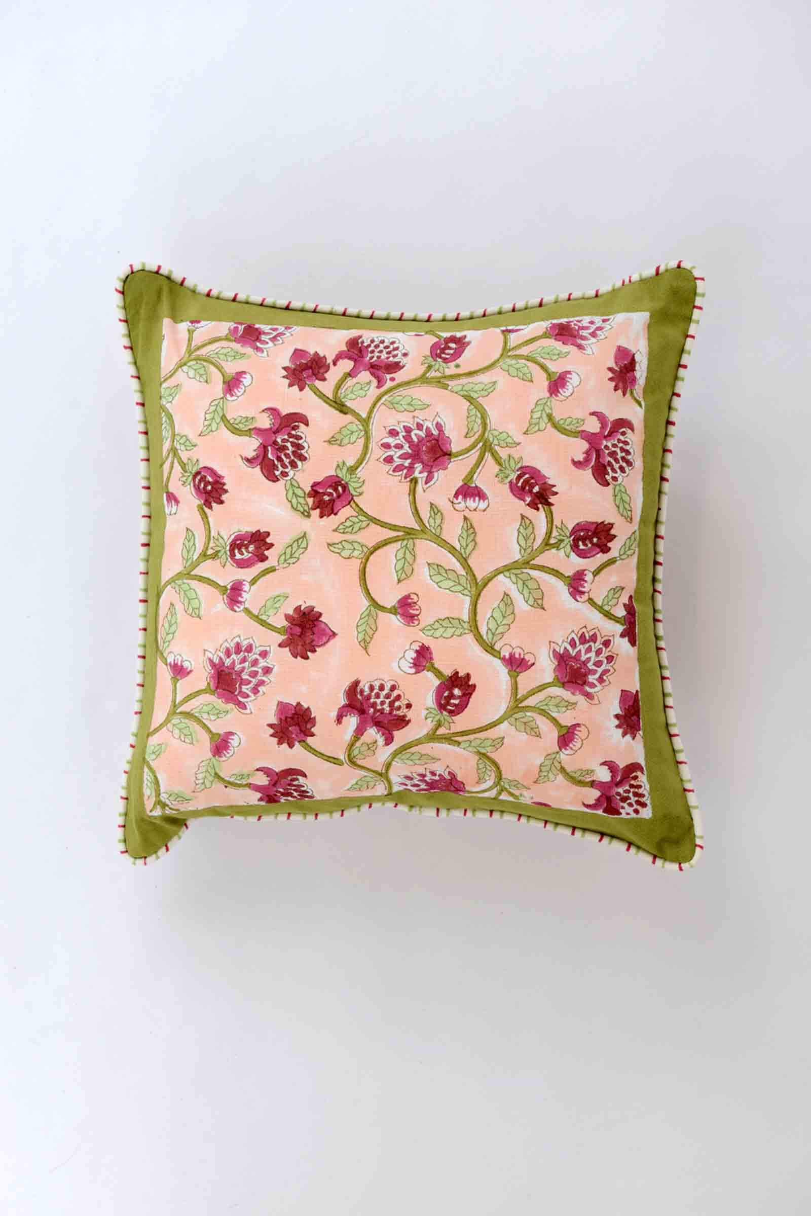 Poetic Summer 12*12 Cushion Cover