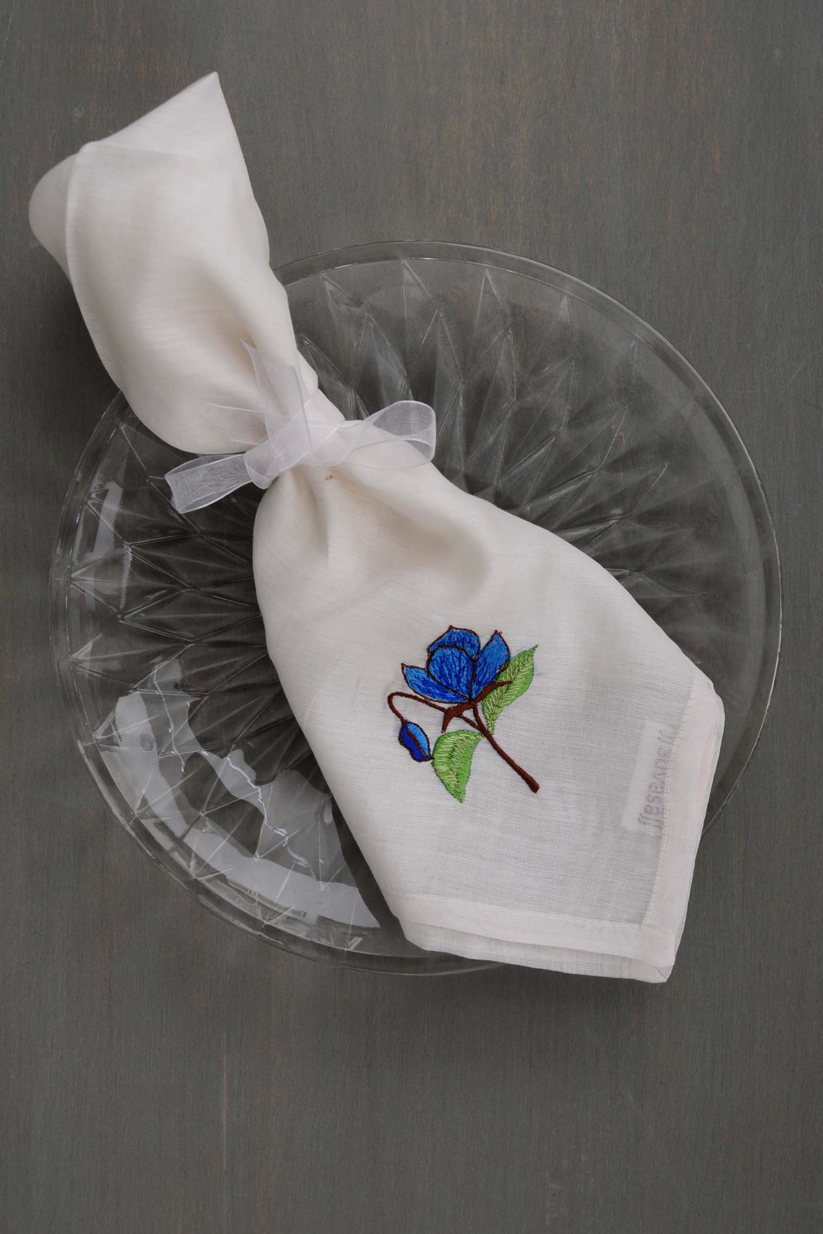 Pristine Pearl Napkin Set Of 6