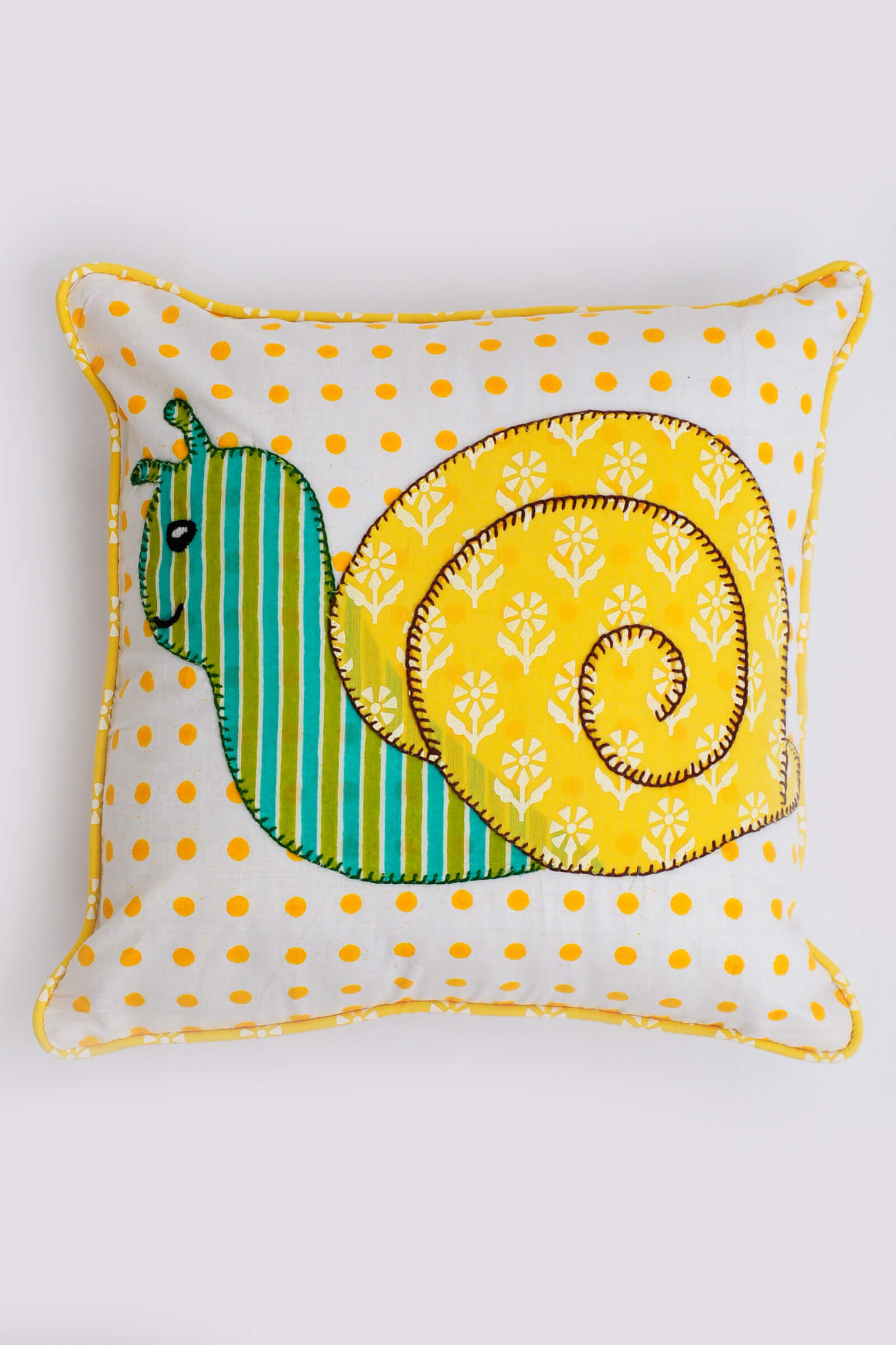 Snail Baby Cushion Cover