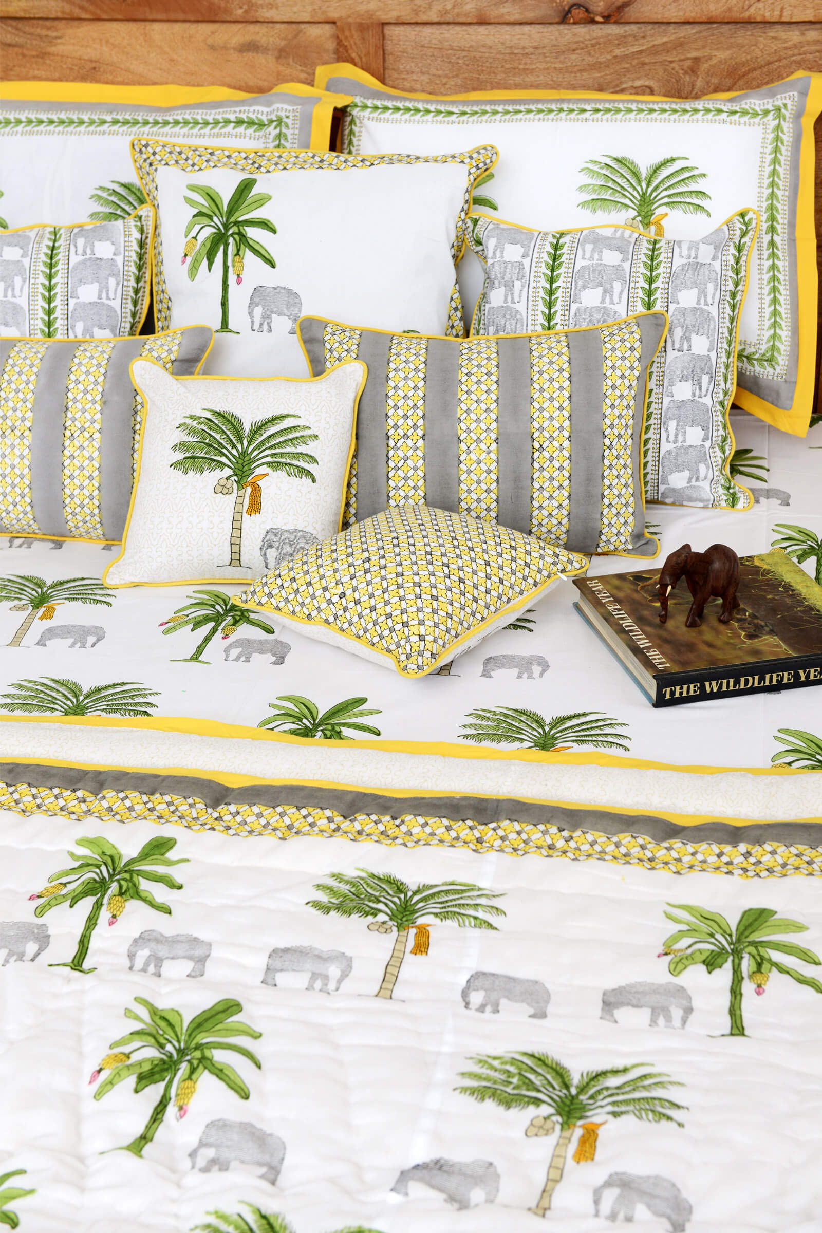 Thekkady Bed Cover