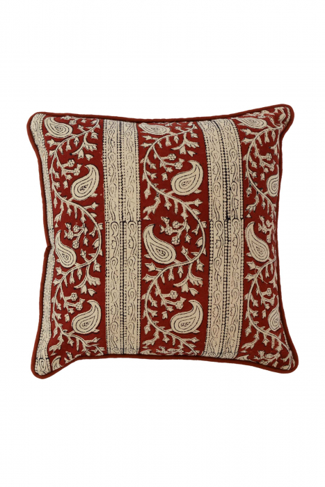 Vrindavan  Border Cushion Cover