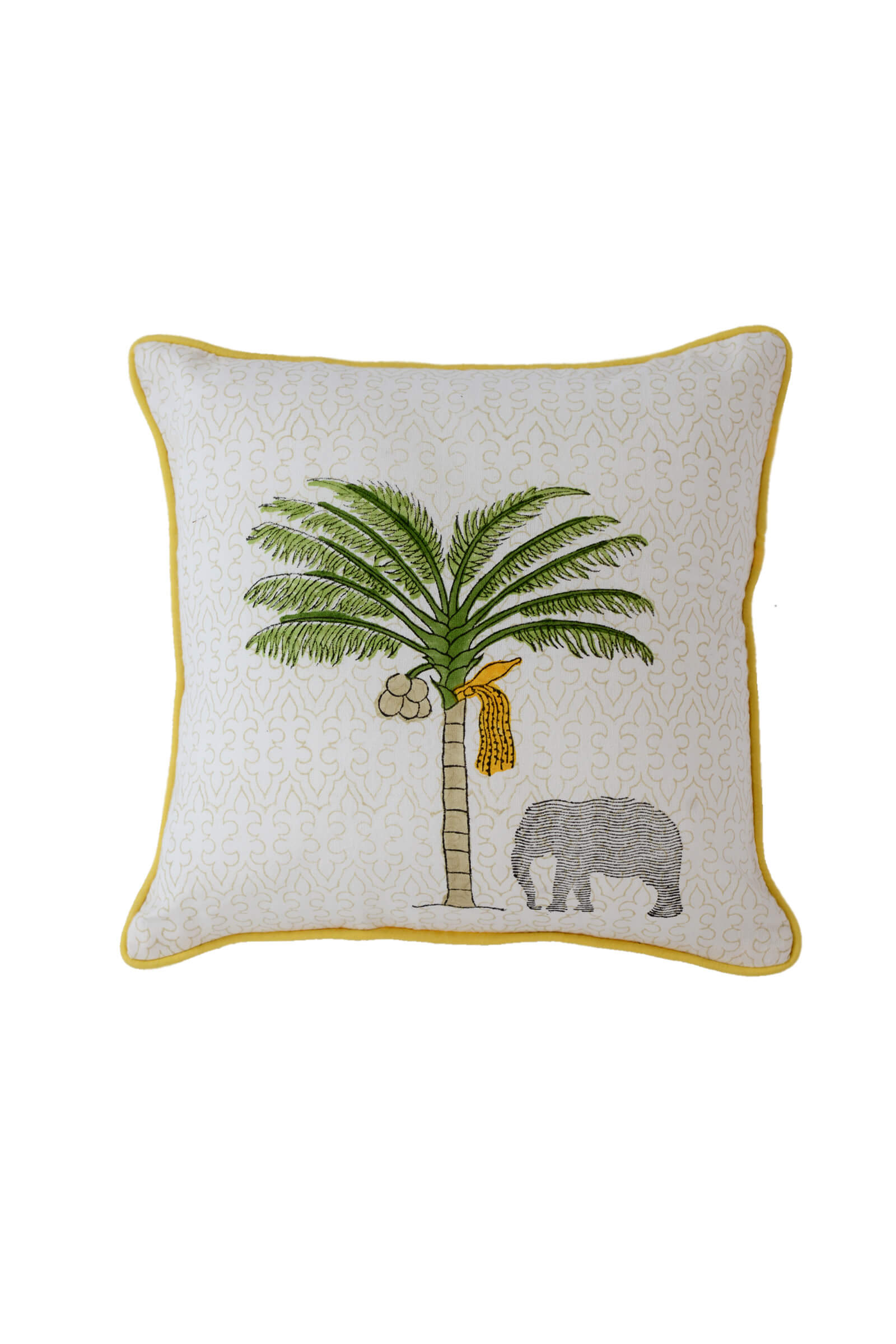 Thekkady Palm Cushion Cover