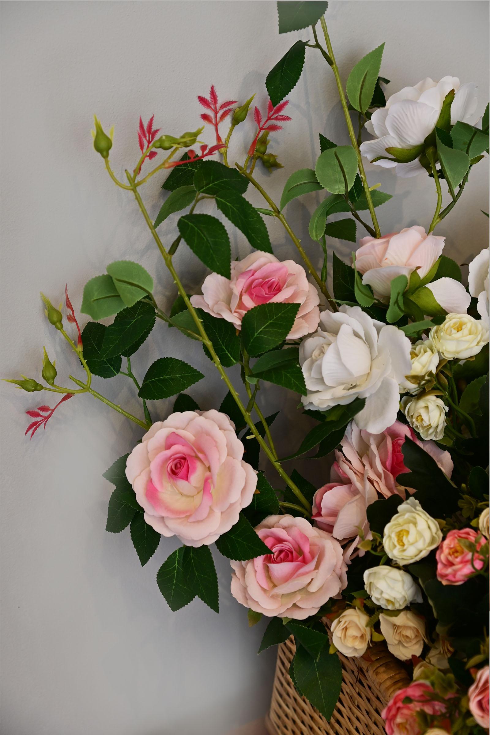 Pink Roses Stem