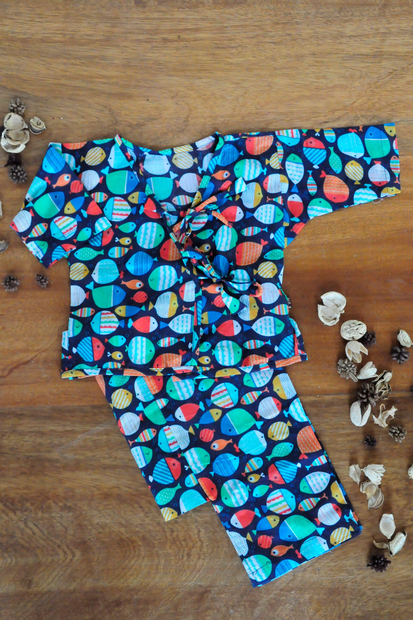 Deep Sea Diving Baby Set