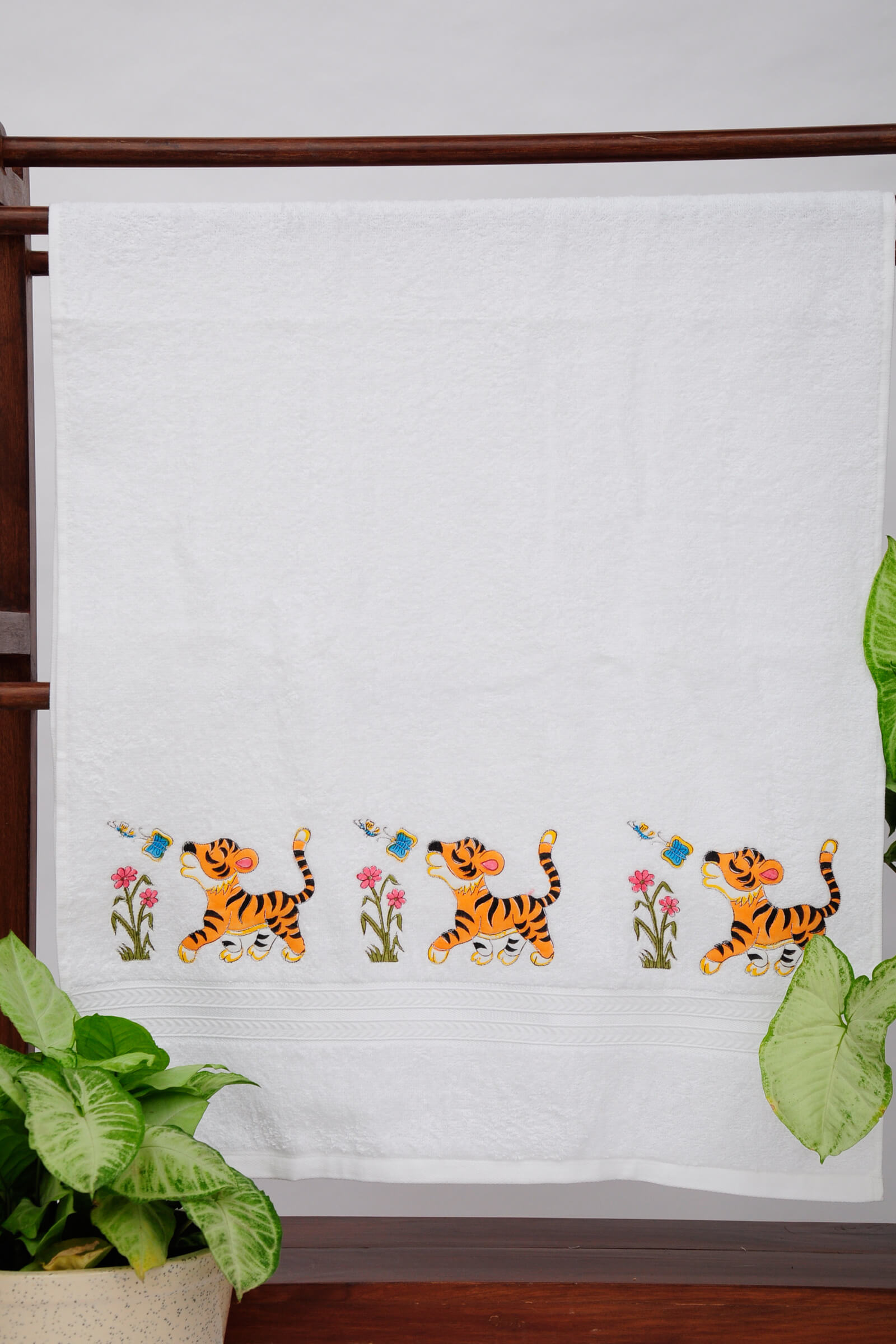 Baby Tigee Bath Towel
