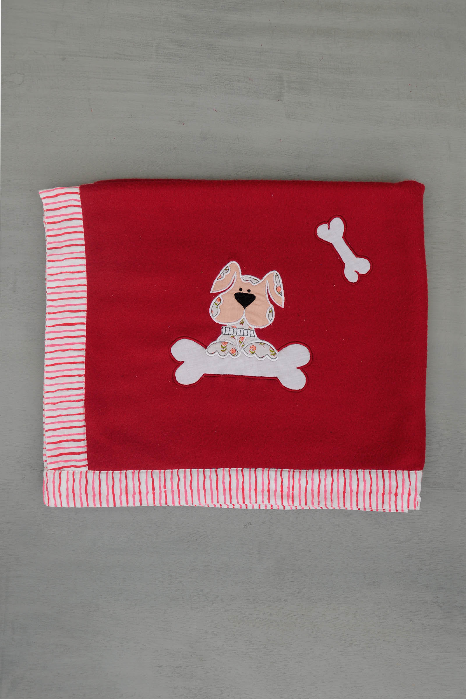 Red Doggy Blanket