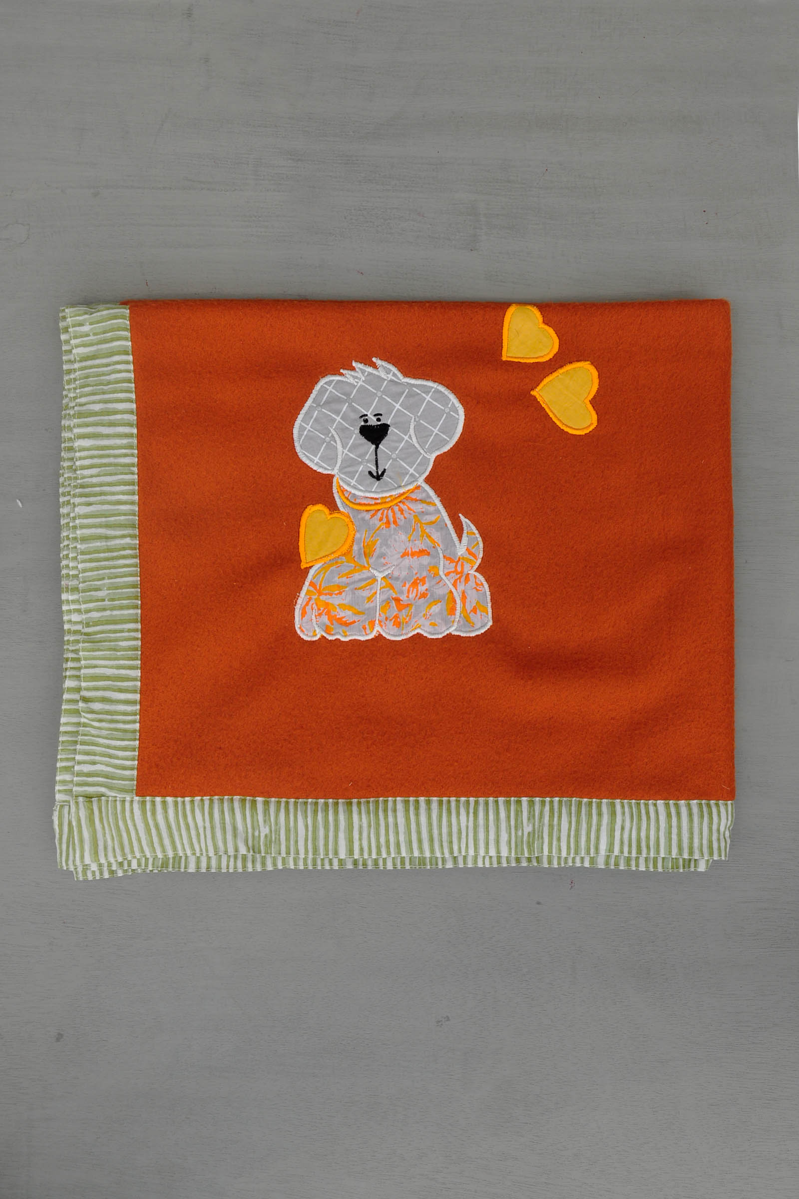 Orange Doggy Blanket