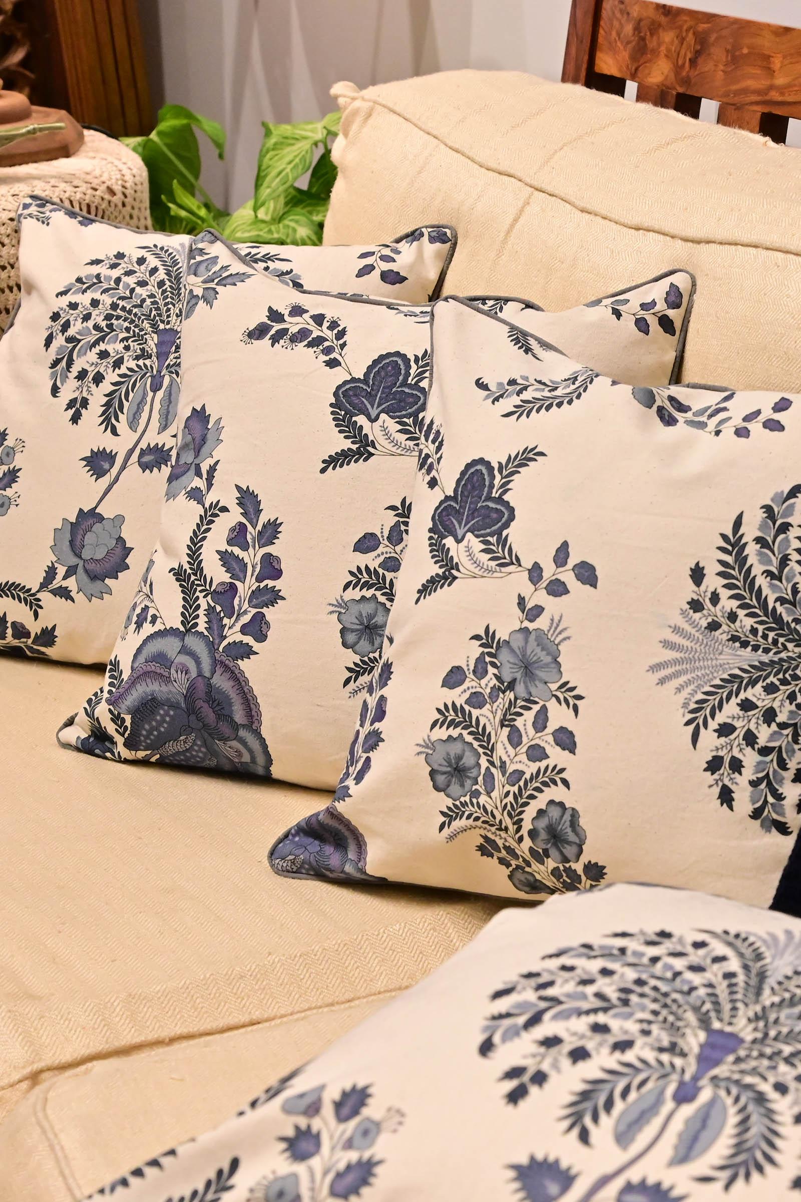 Blue China 16*16 Cushion Cover