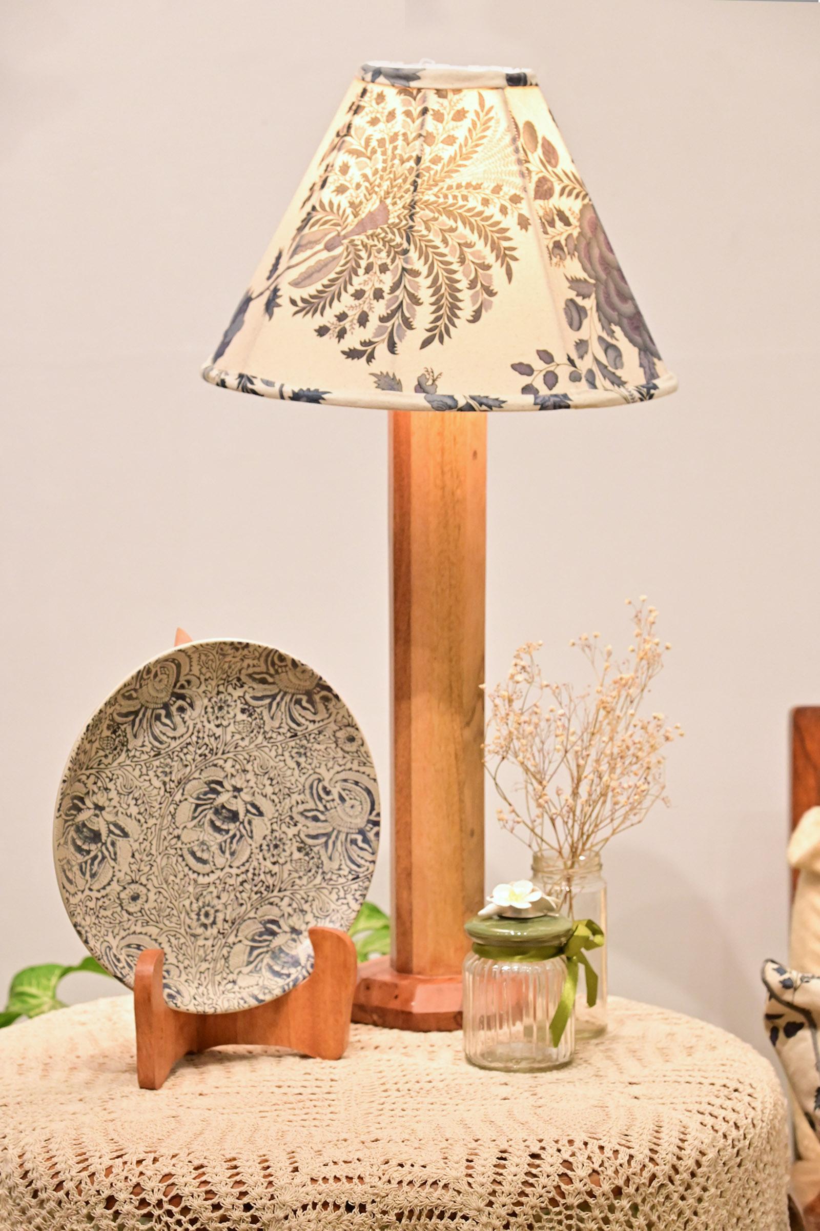 Blue China Medium Lamp Shade