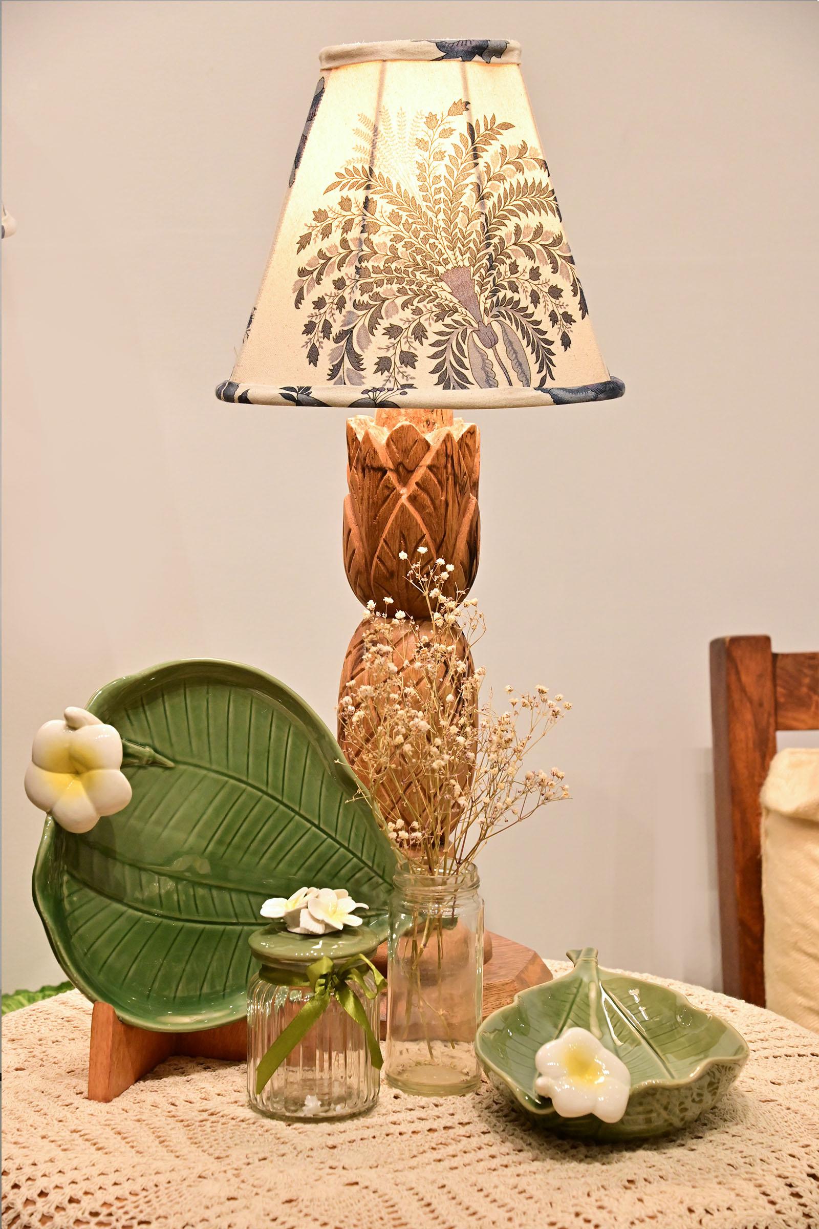 Blue China Small Lamp Shade