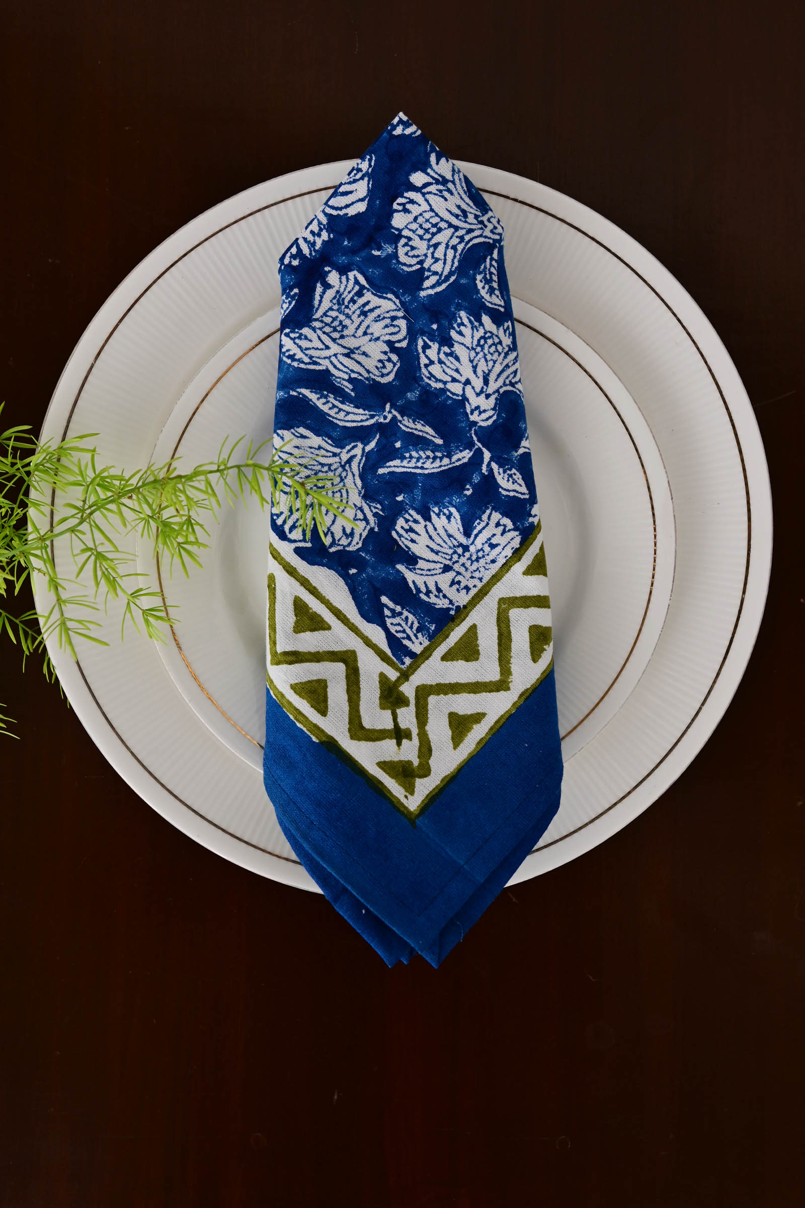Blue Harmony Napkin Set Of 6