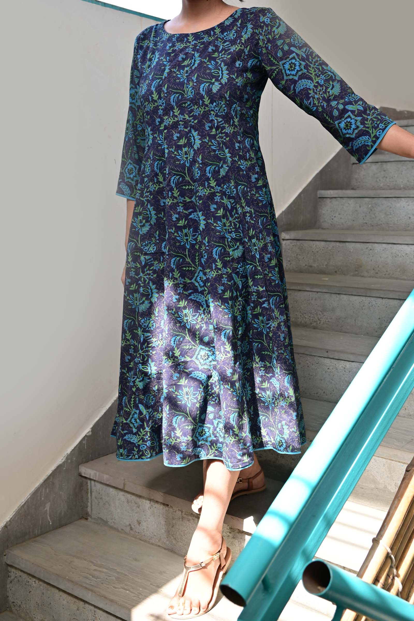 Blue Wednesday Voil Dress