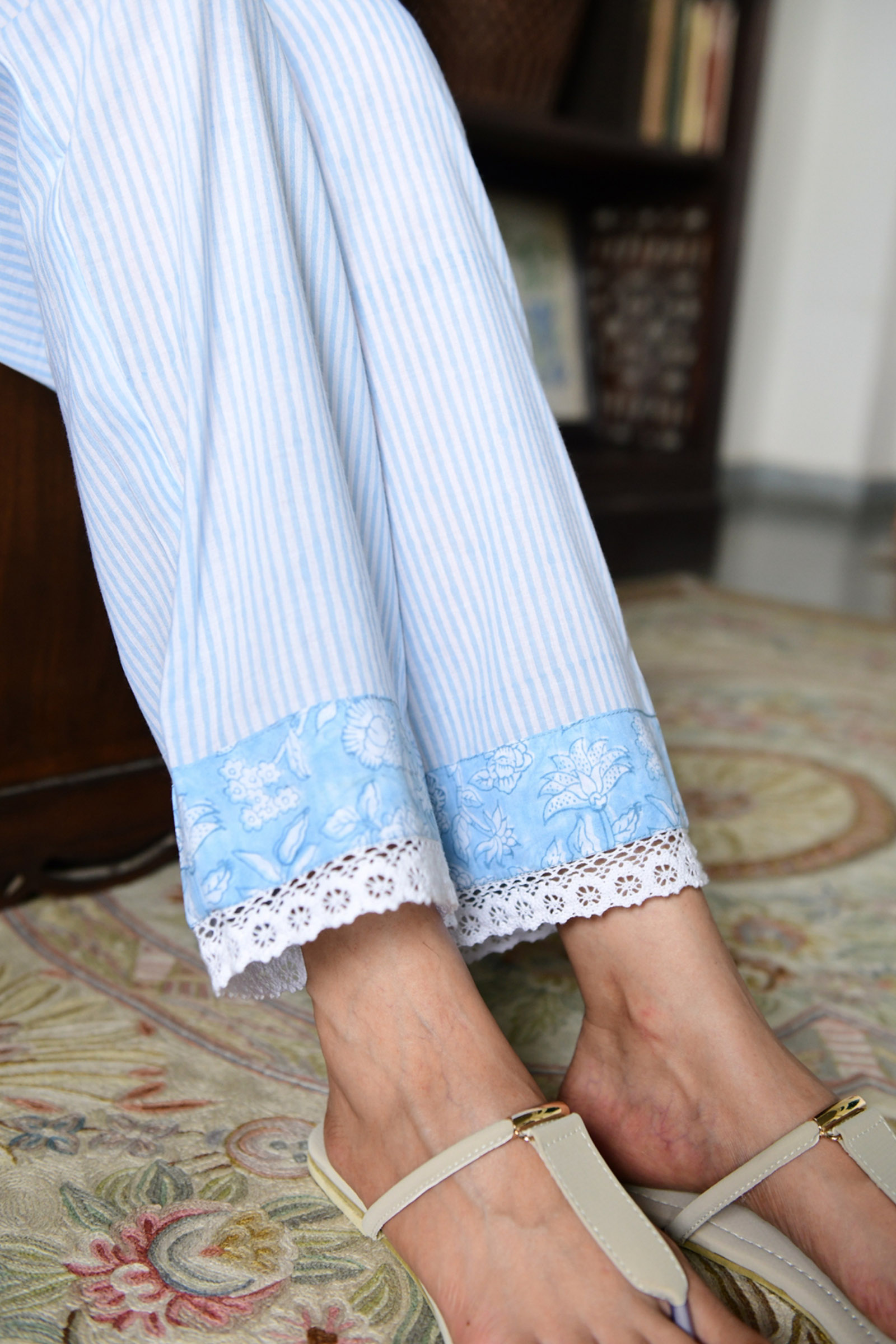Whimsy Waters Straight Pant