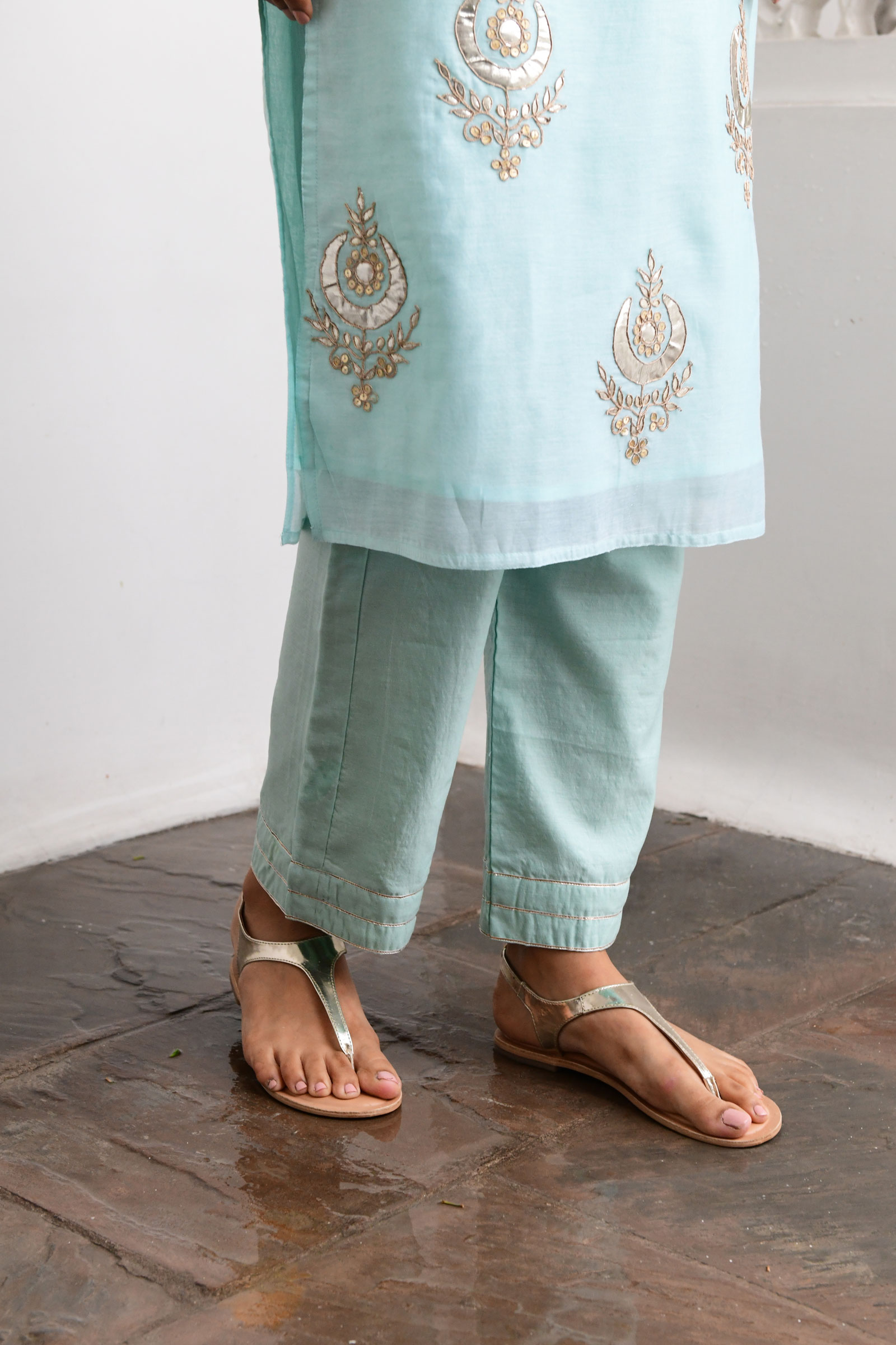 Chandbali Cigarette Pants