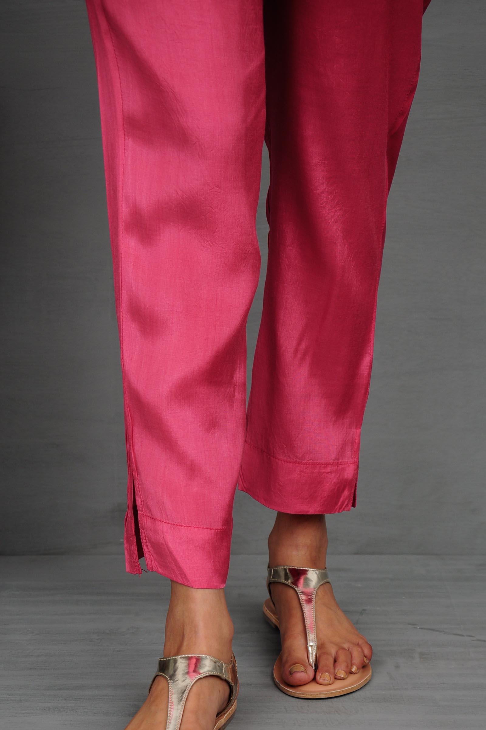 Pink Ink Cigarette Pant