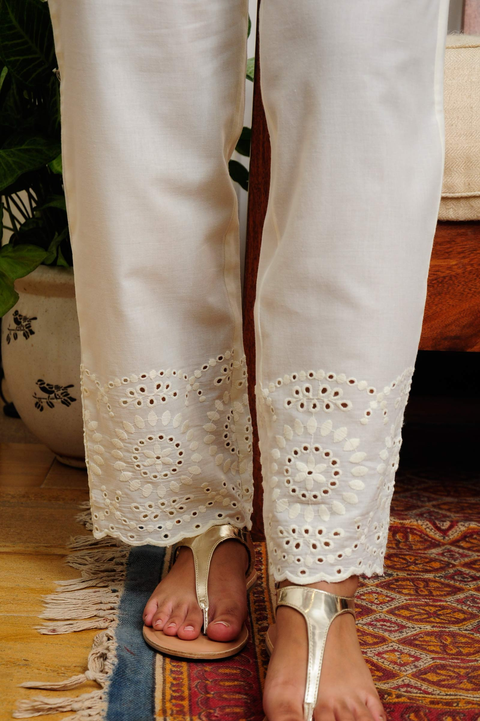 Cairo Cream  Pants