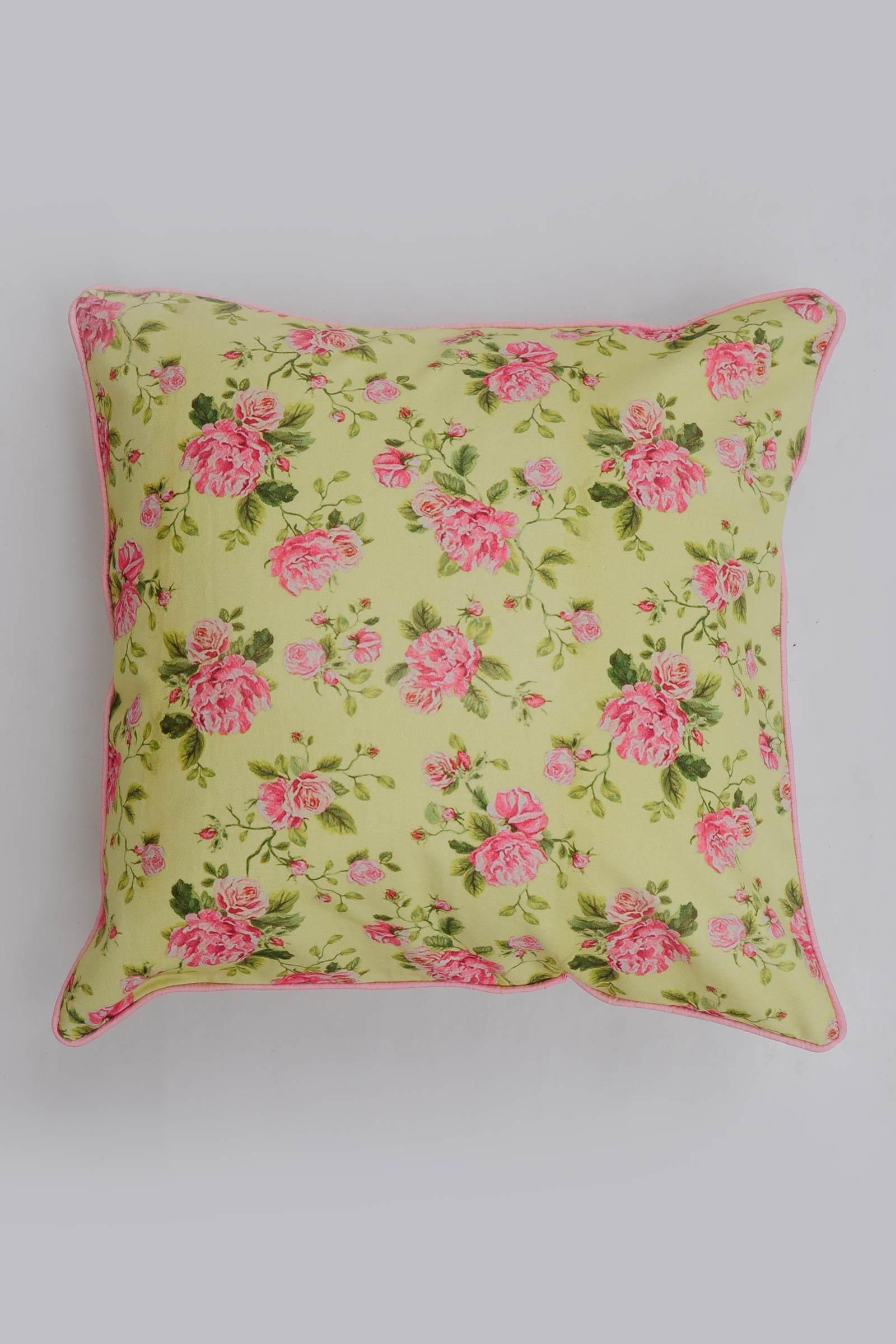 Rose Mojito  Cushion Cover