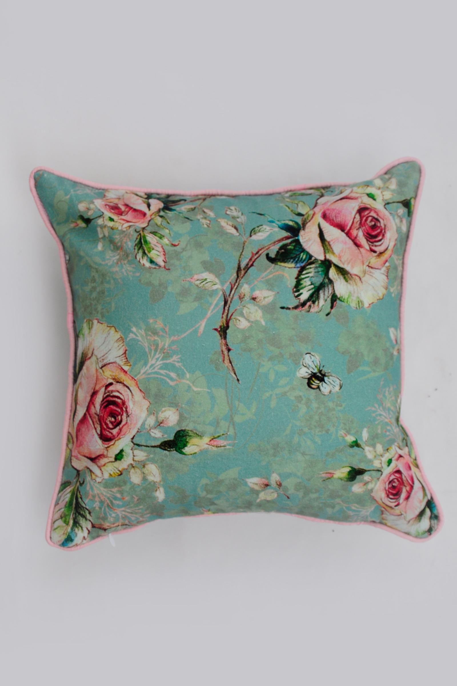 Chintz Rose Cushion Cover