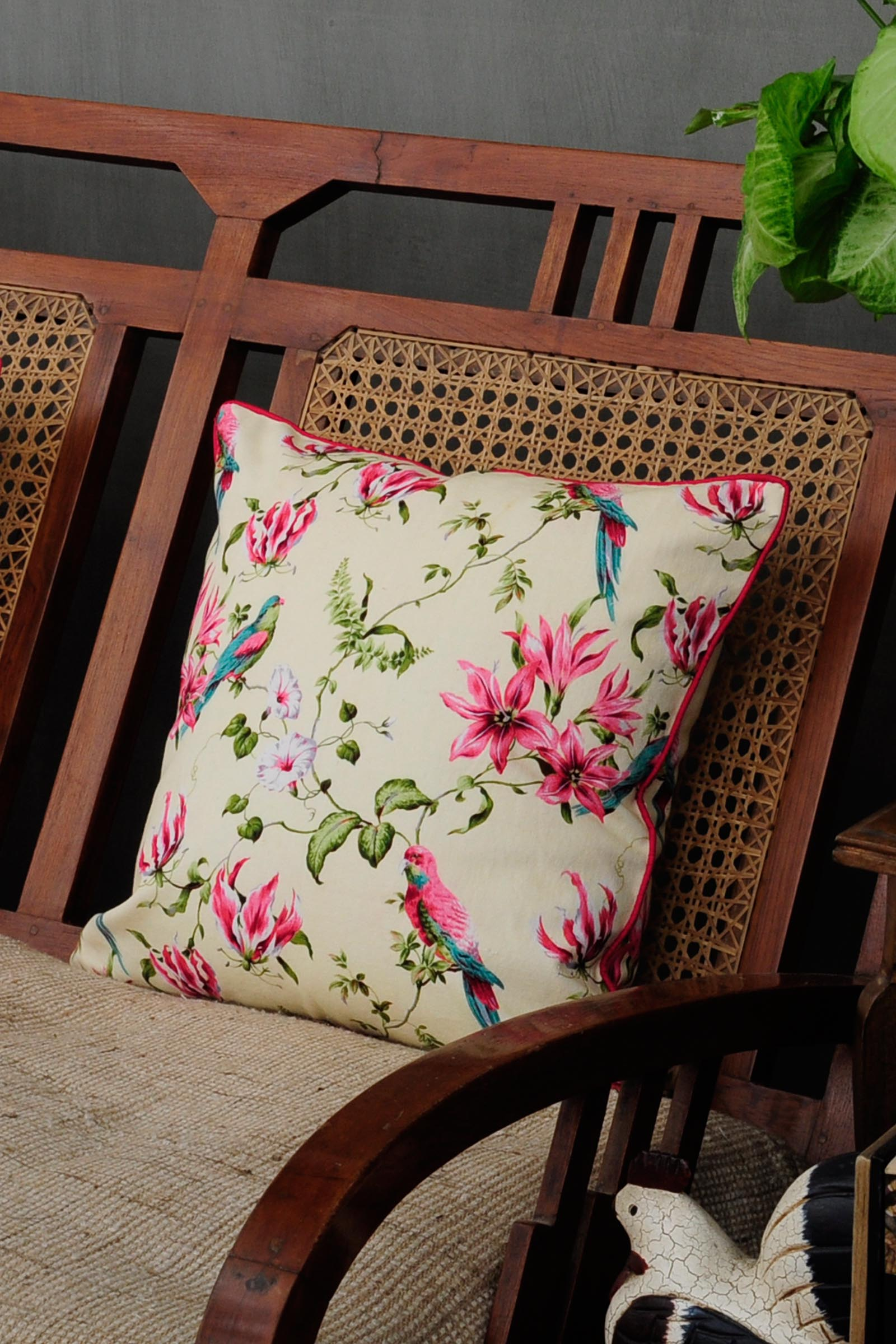 Chintz Paradise 16*16 Cushion Cover