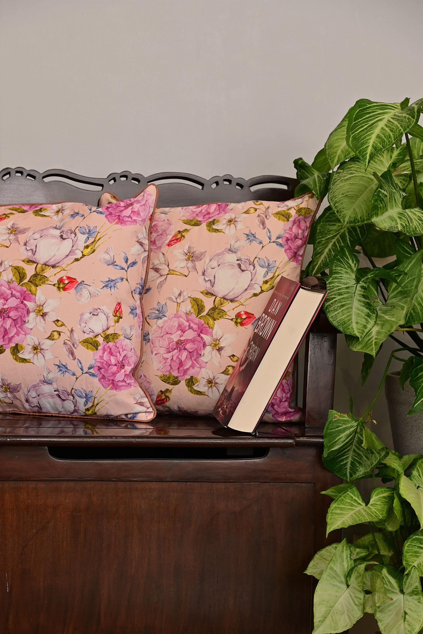 Peony 16*16 Cushion Cover