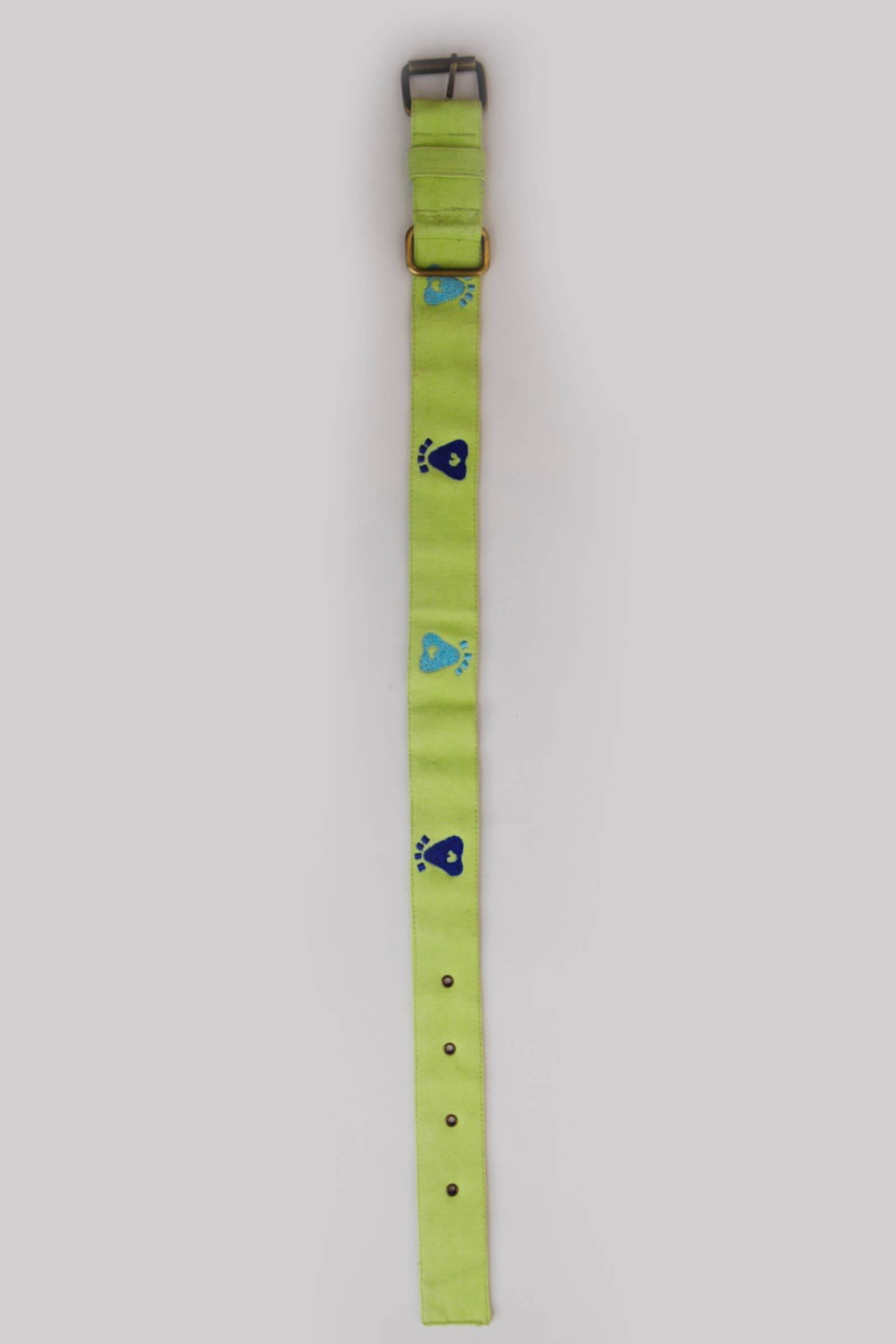 Medium Foot Print Collar