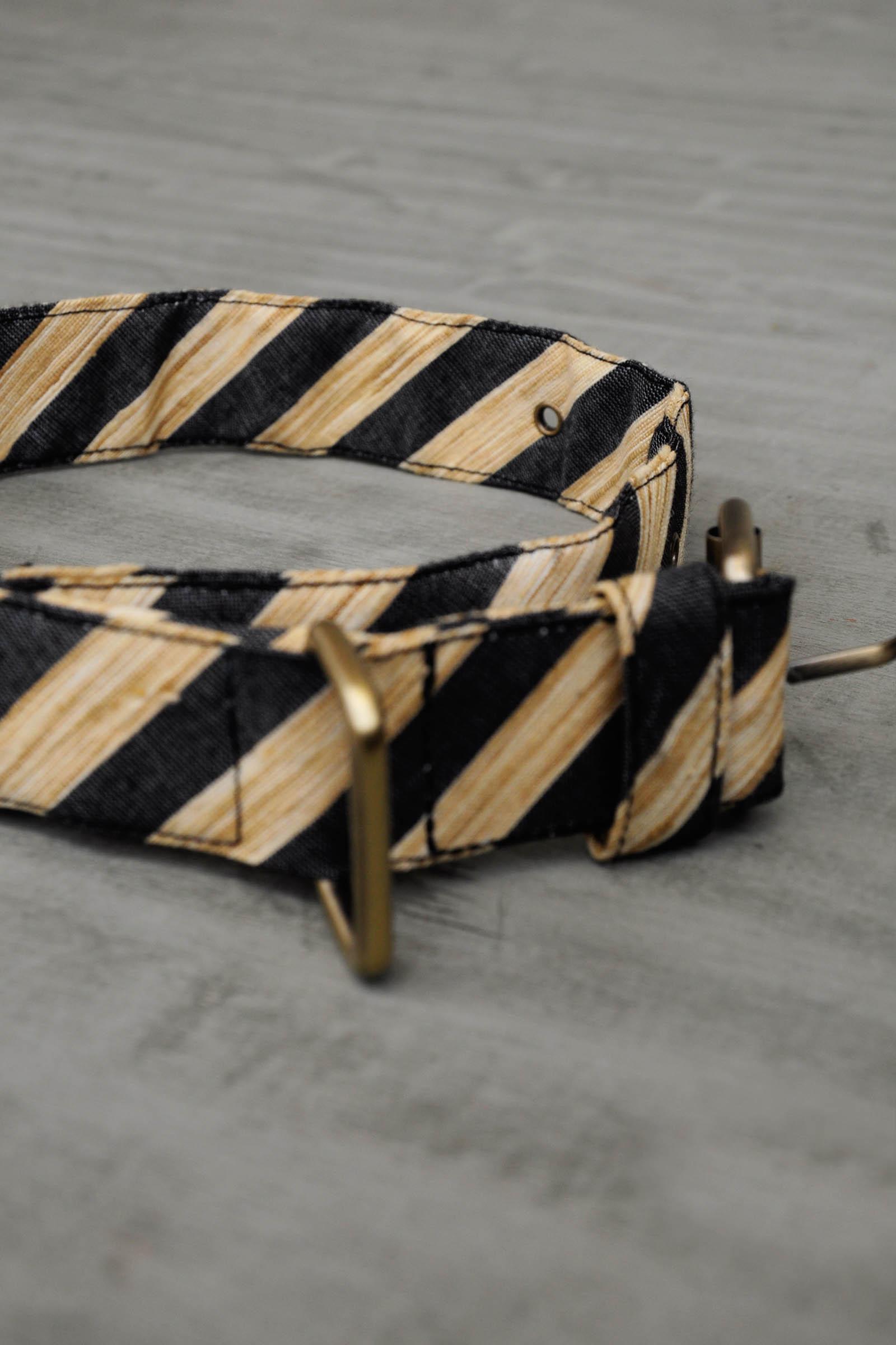 Stripe Collar-Black