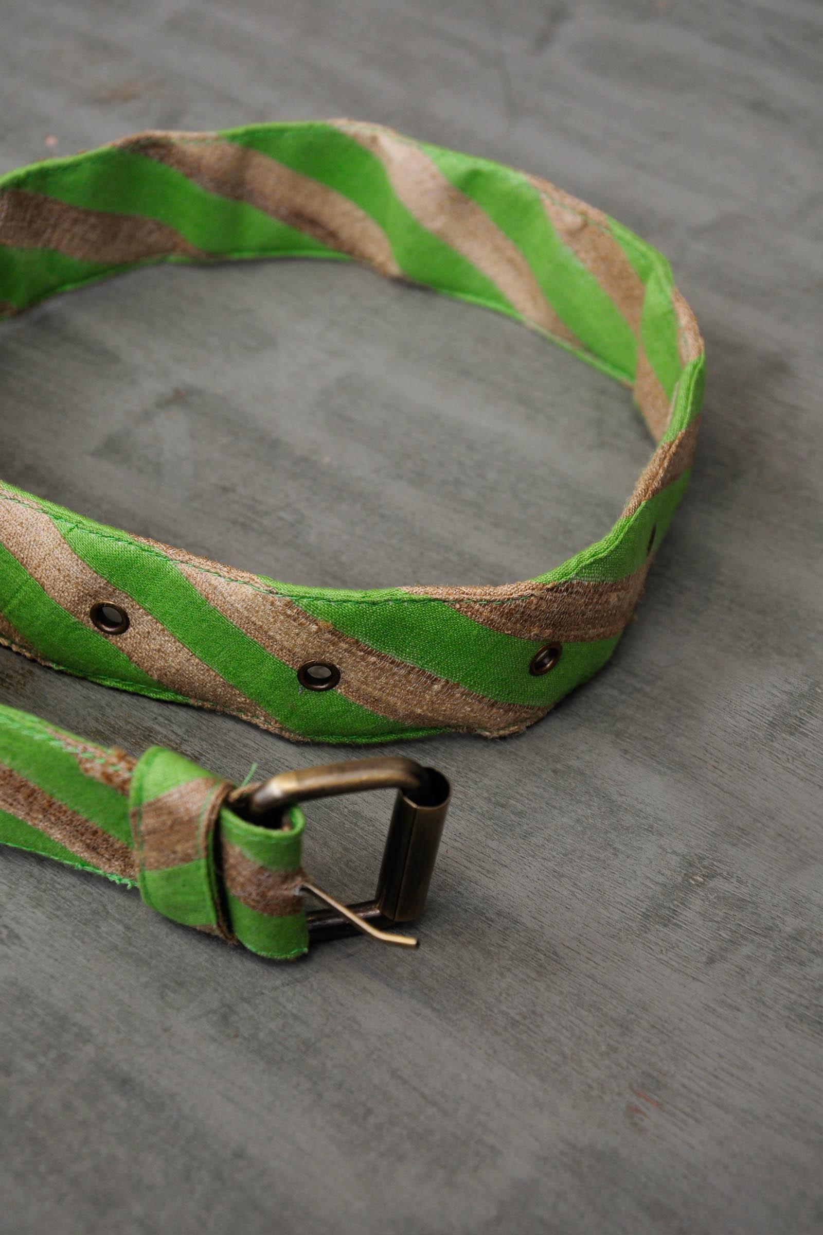 Stripe Collar-Green