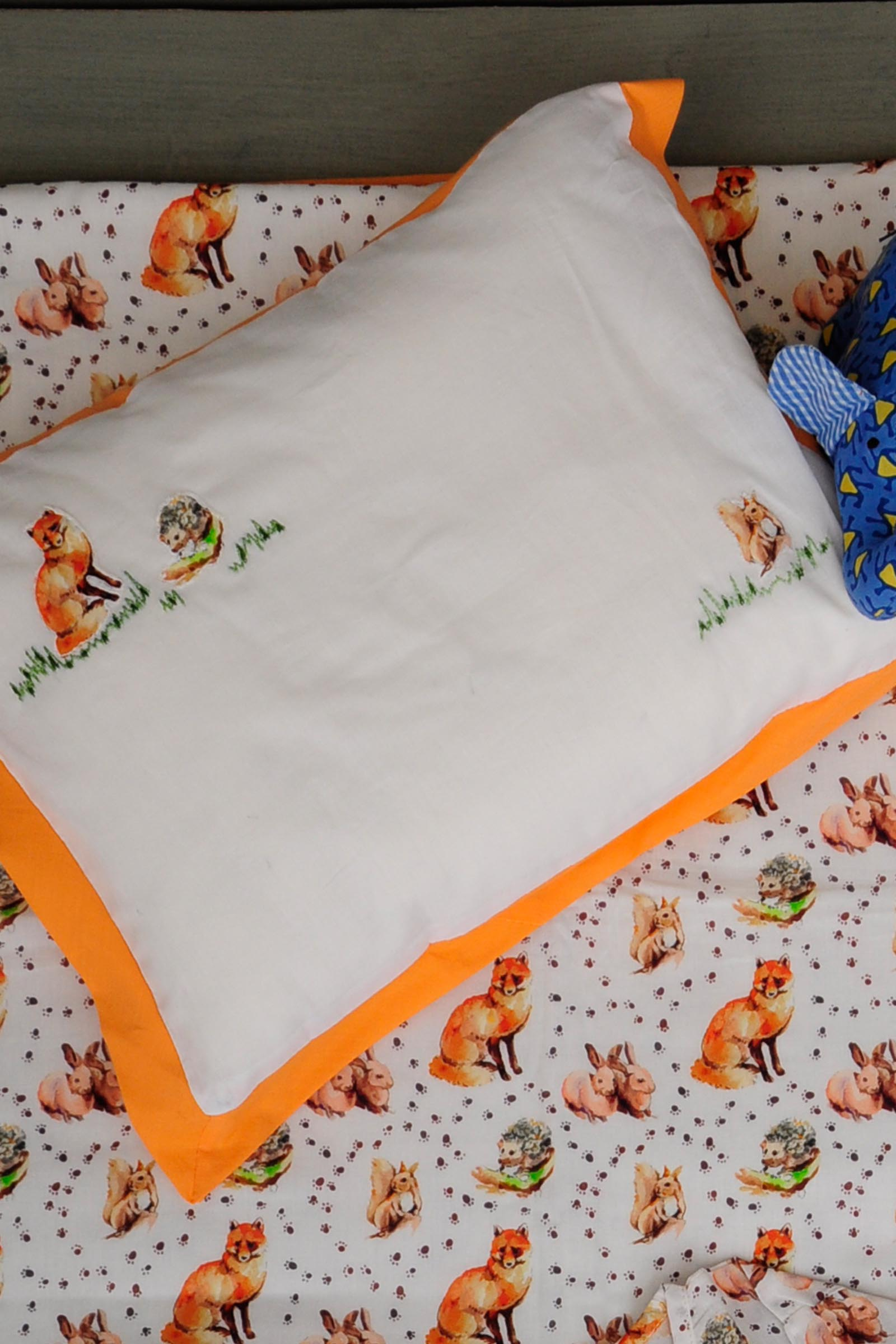 Fox Trot Baby Dohar Set