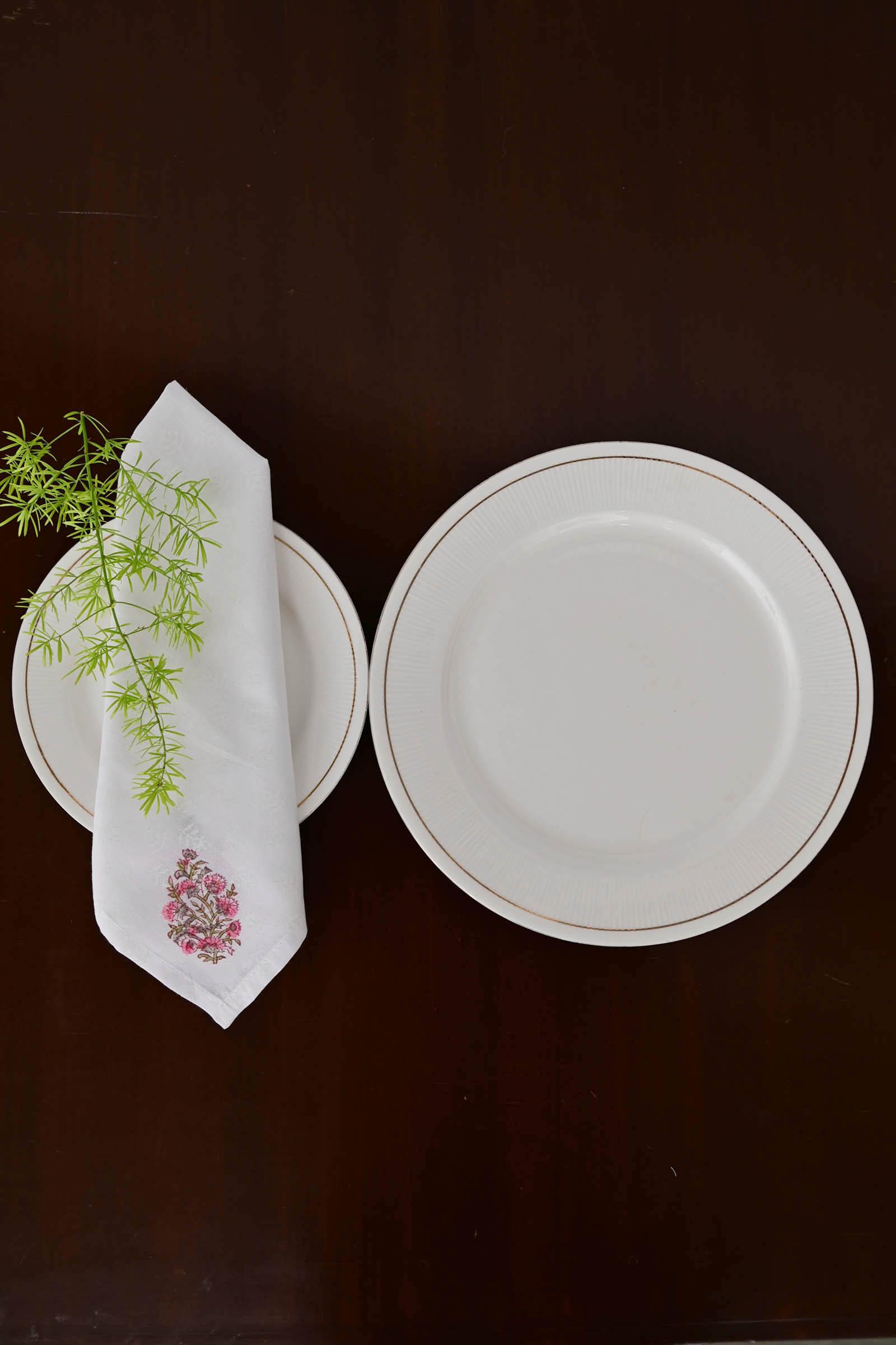 Dianthus Dinner Napkin Set Of 6