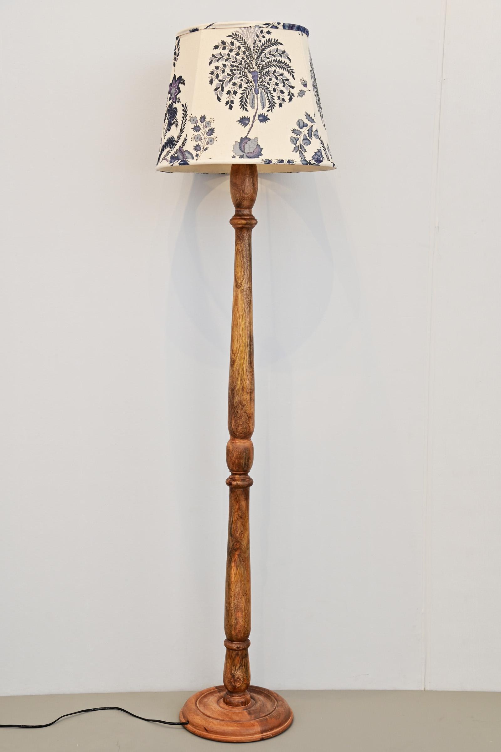 Oak Floor Lamp Stand