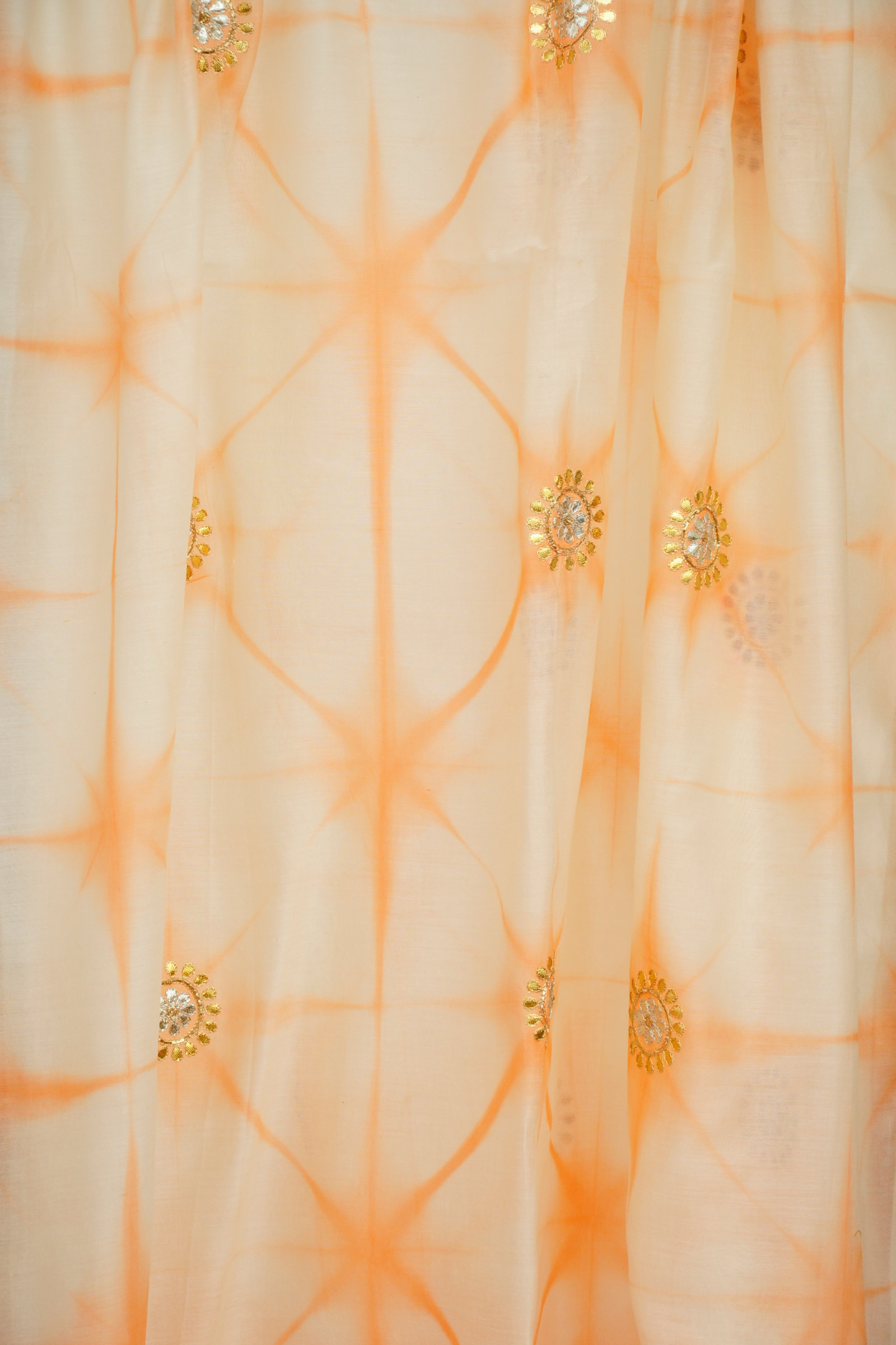 Gota Patti Orange Dupatta